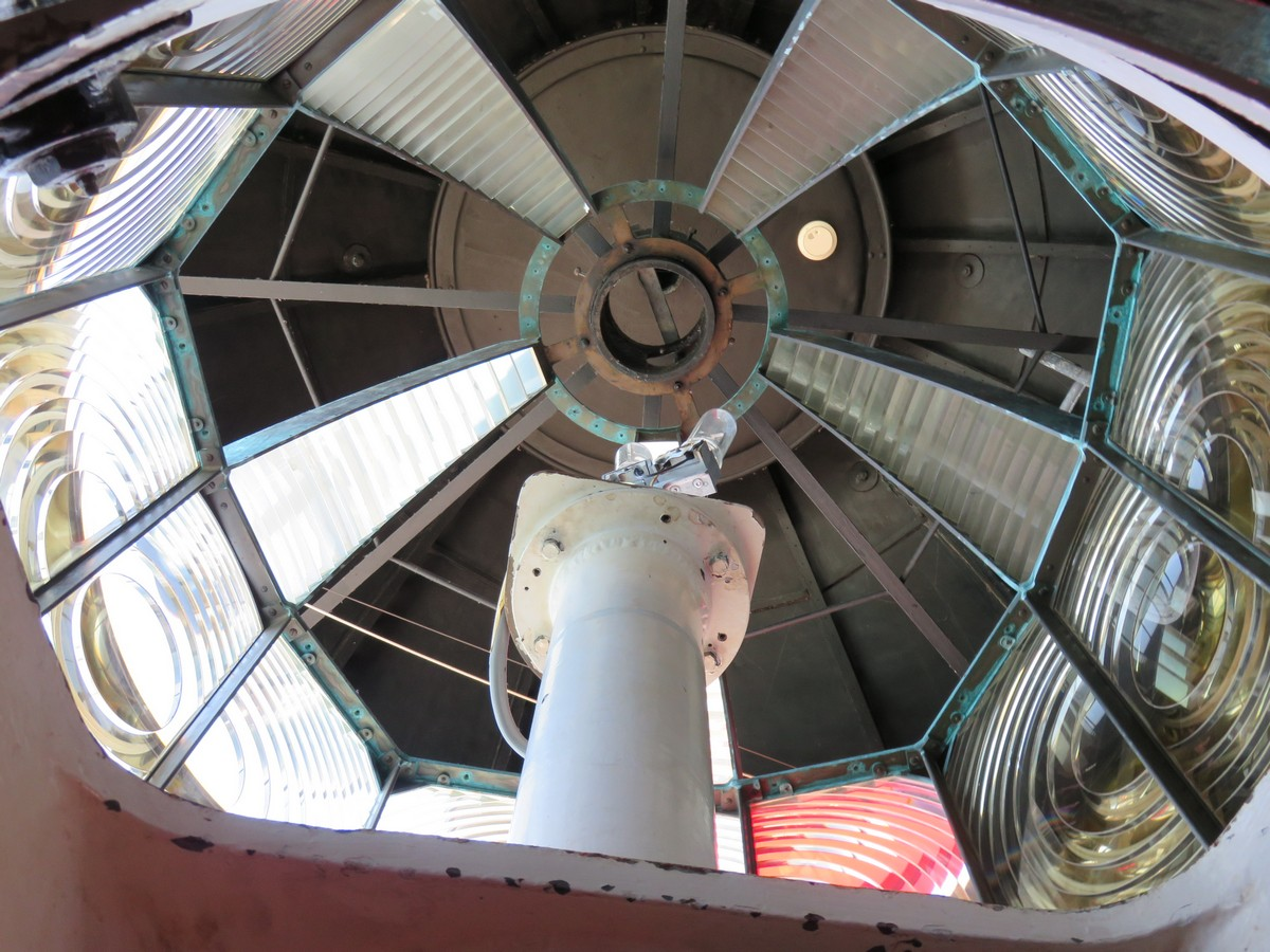 This is what the inside of a lighthouse looks like