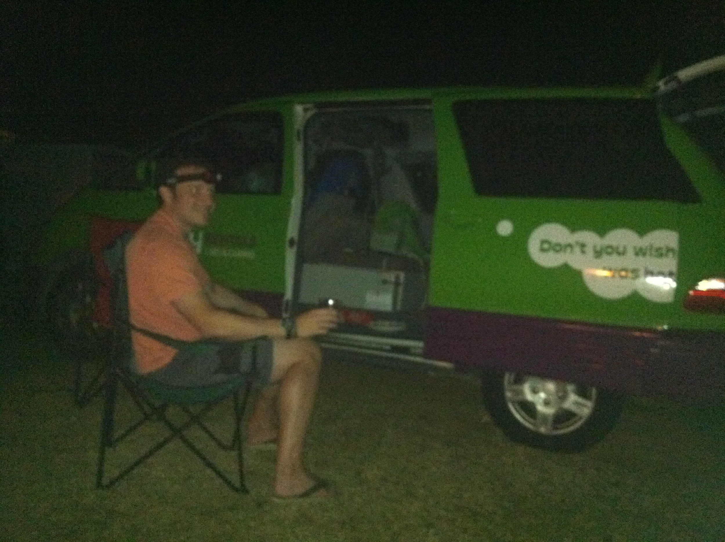 This is glampervanning