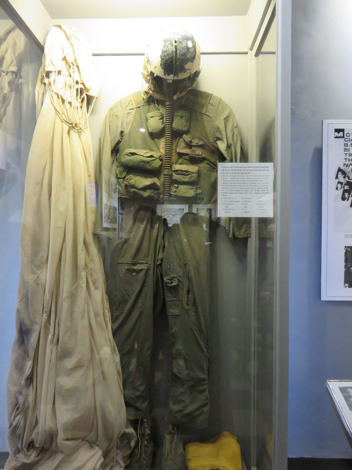 American pilot suits from POWs