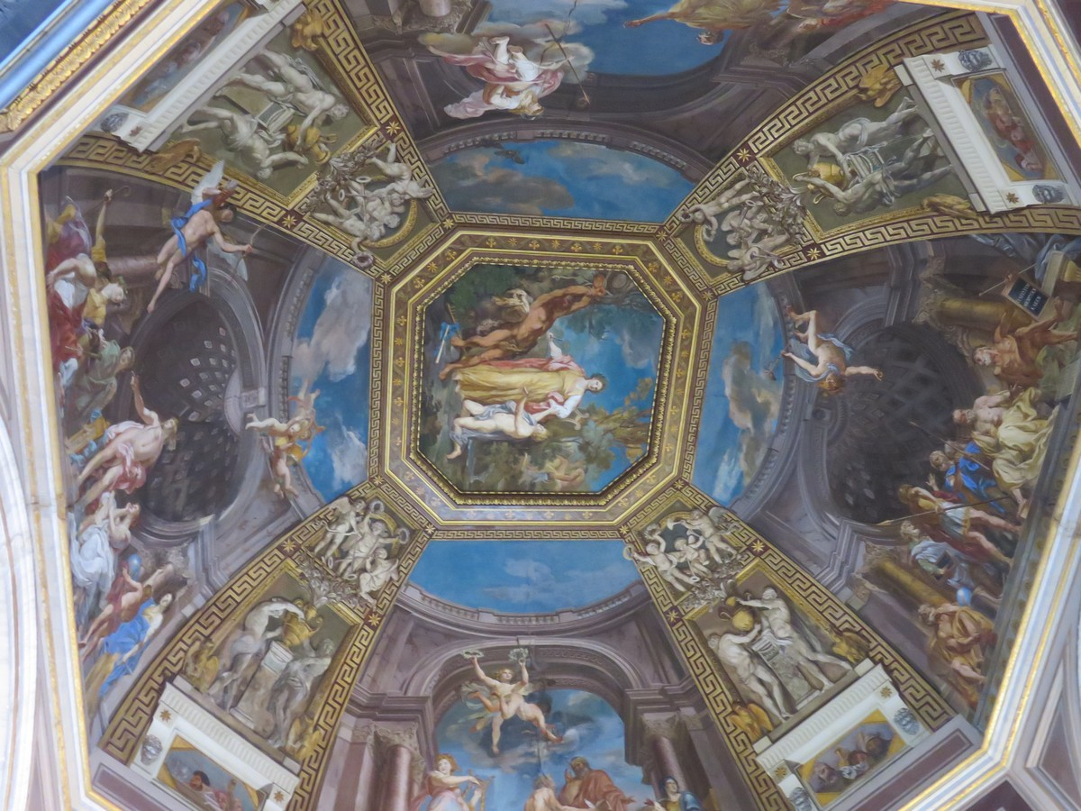 This is a real ceiling, people