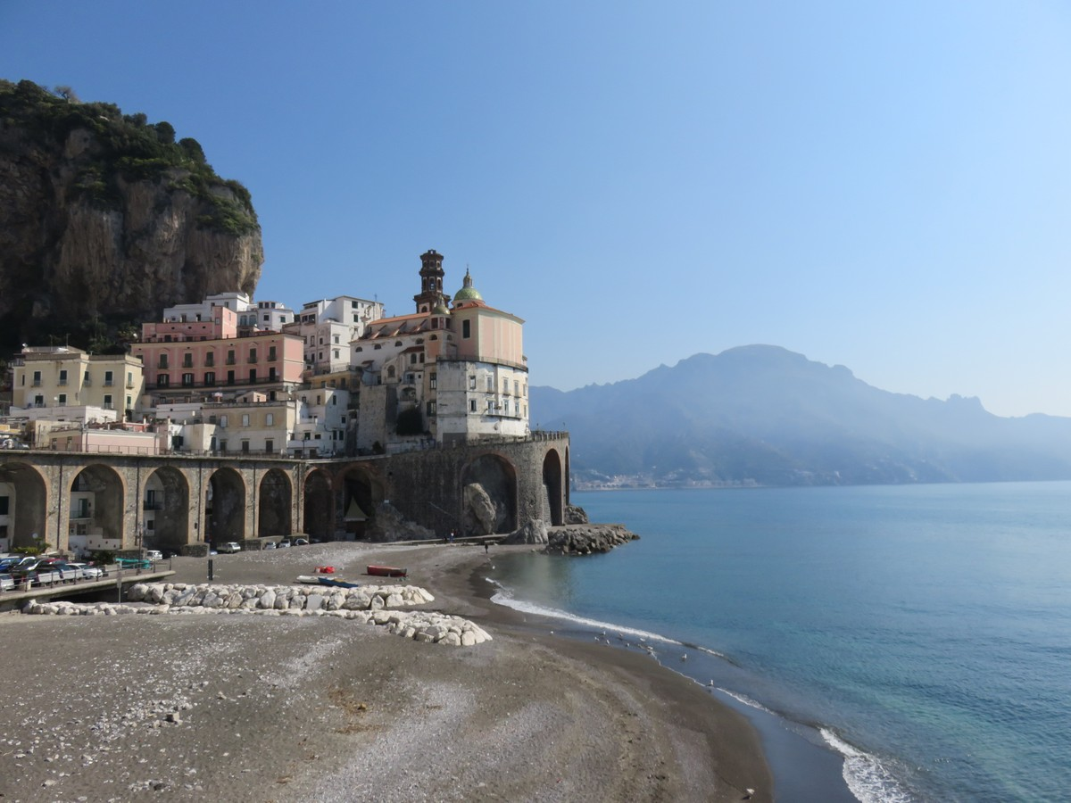 Amalfi town views