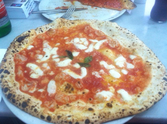 The Margherita Pie.  Heaven on a plate.