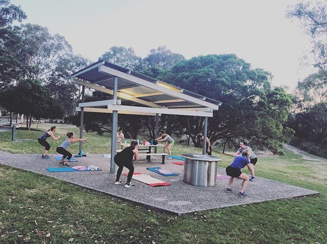 A extremely brutal HIIT session for the girls tonight, but everyone smashed it!👊🏼🙌🏼 To join us Visit www.riseandgrindfitness.com.au