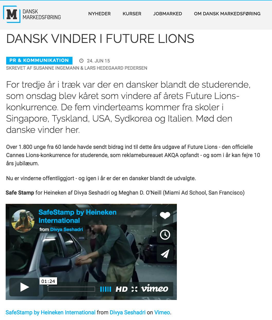 Markedsforing (Denmark)