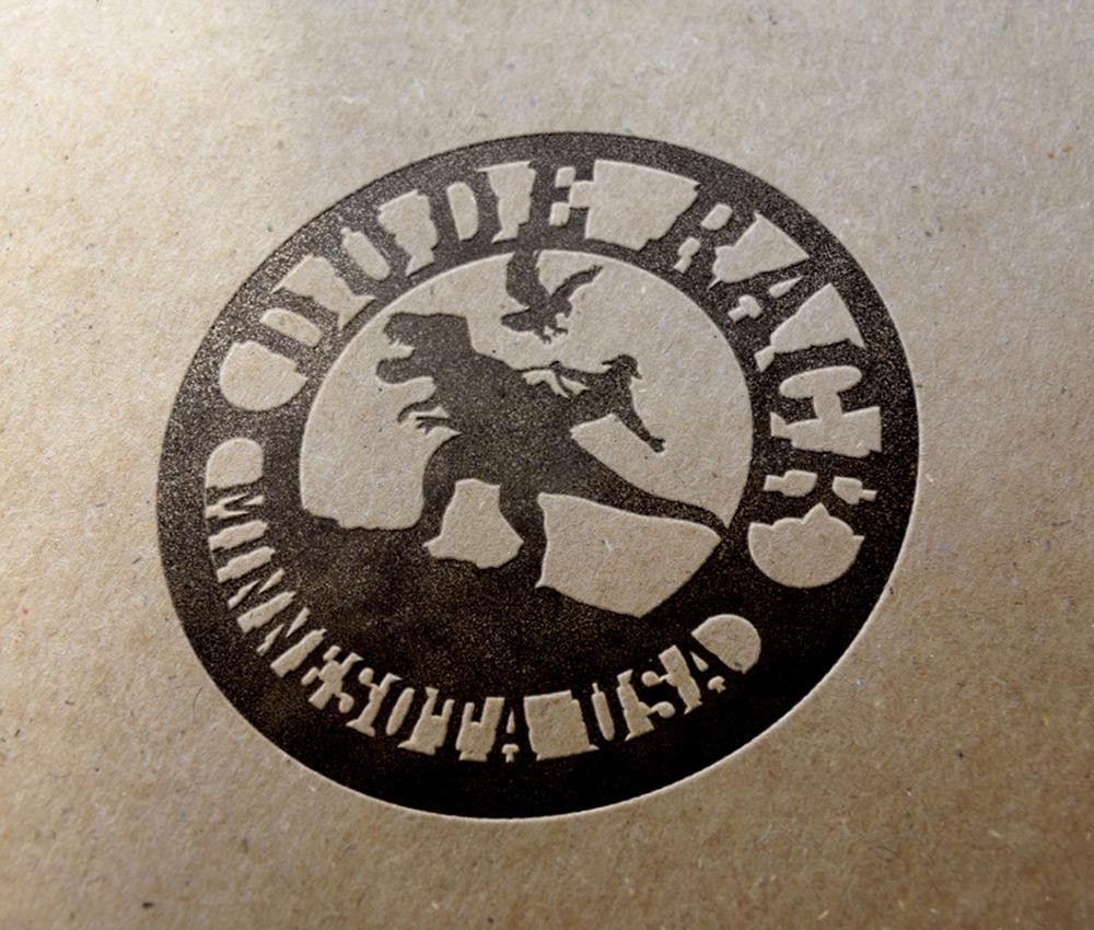 Dude Rack Logo Design