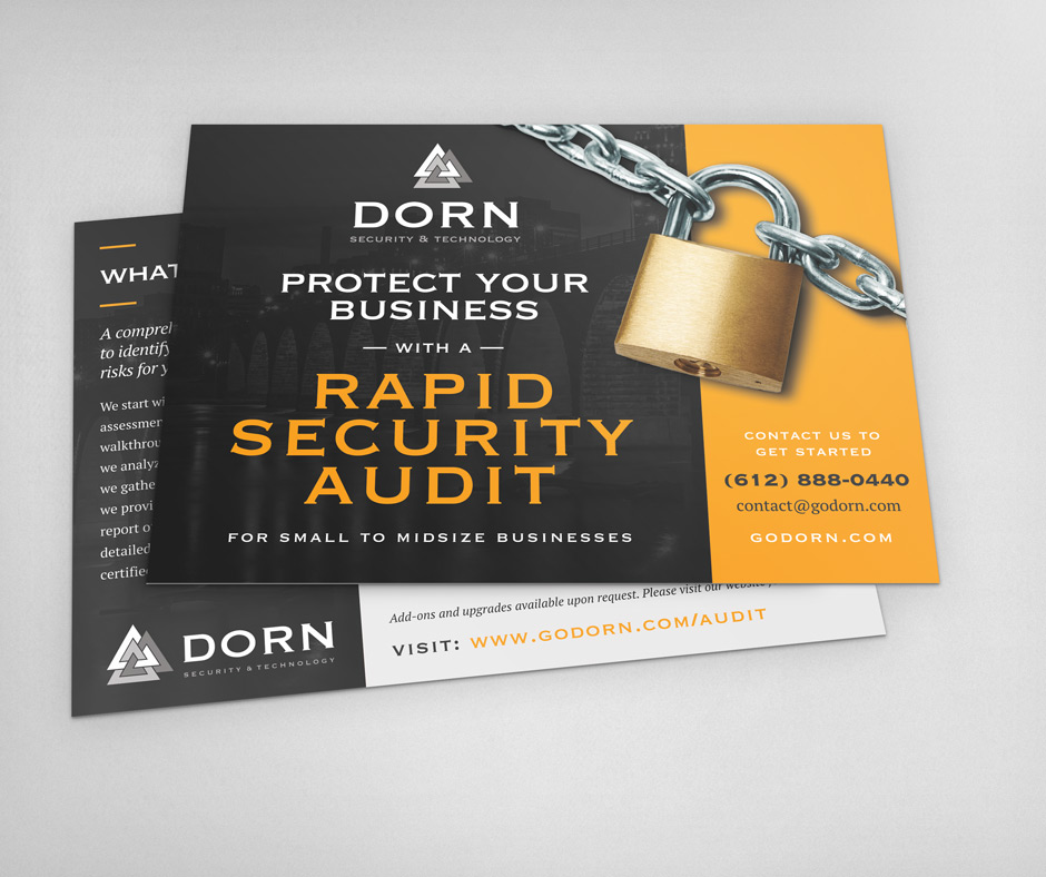 Dorn Security Postcard