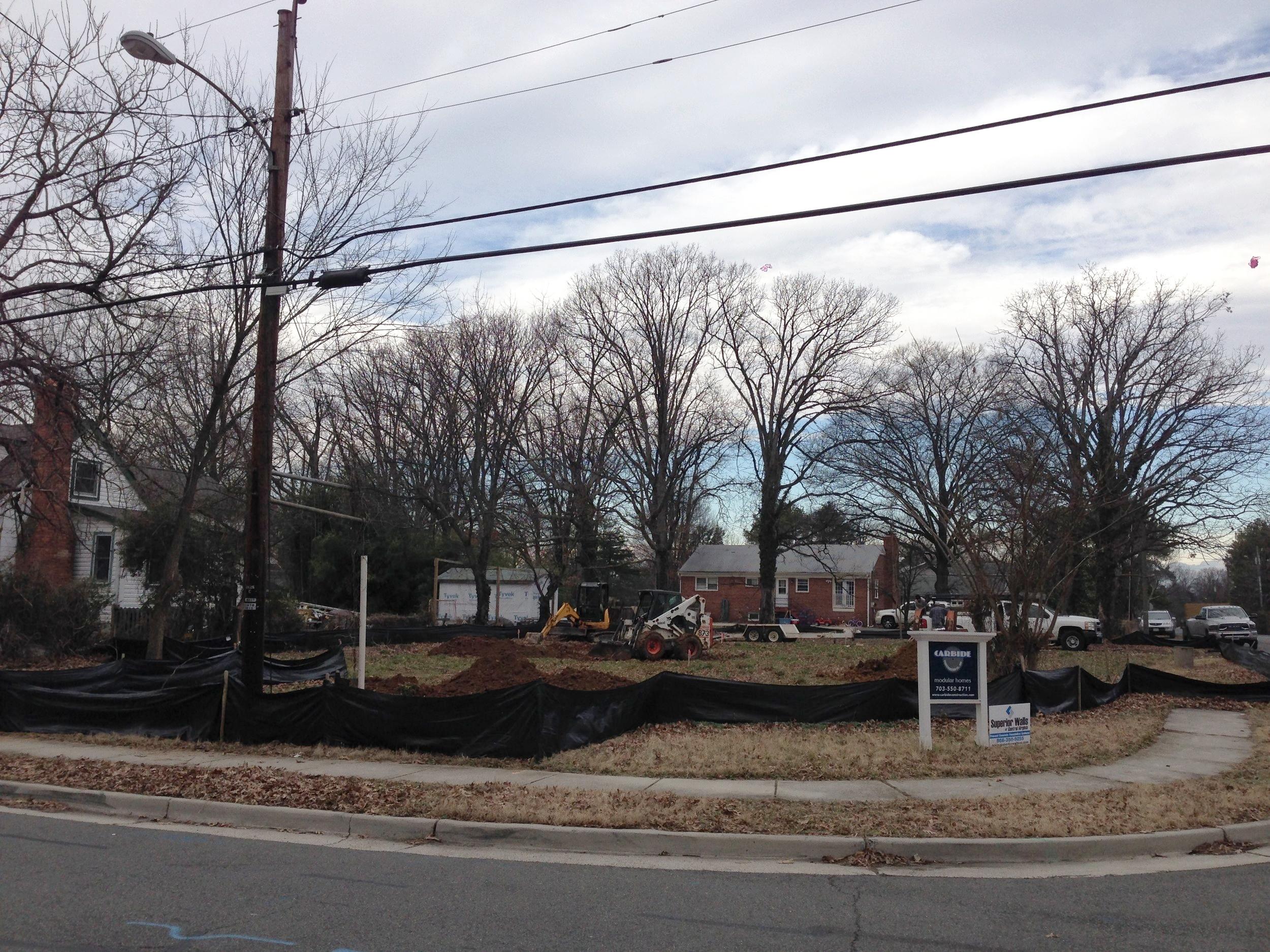 A Bobcat and Excavator finally making progress.