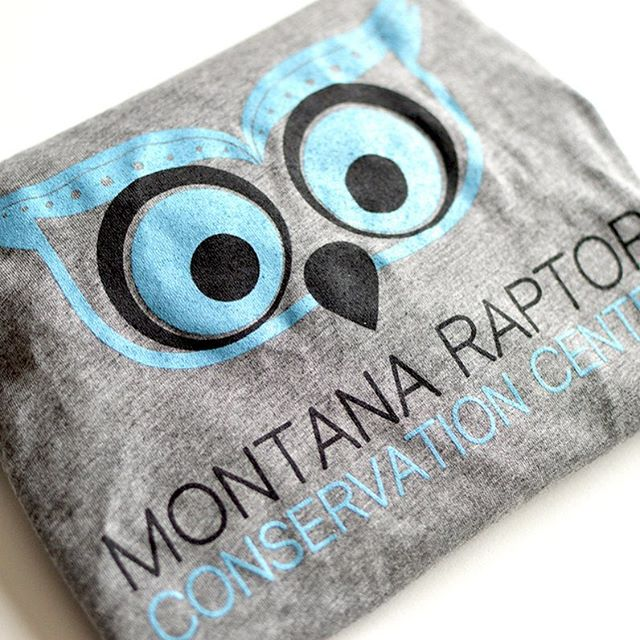 We've had the great pleasure of working with Montana Raptor Conservation Center on some new apparel designs lately.  Some pieces are already available on their site with more to come!  All proceeds go to supporting this wonderful non-profit in the Gallatin Valley! ----- https://store.montanaraptor.org