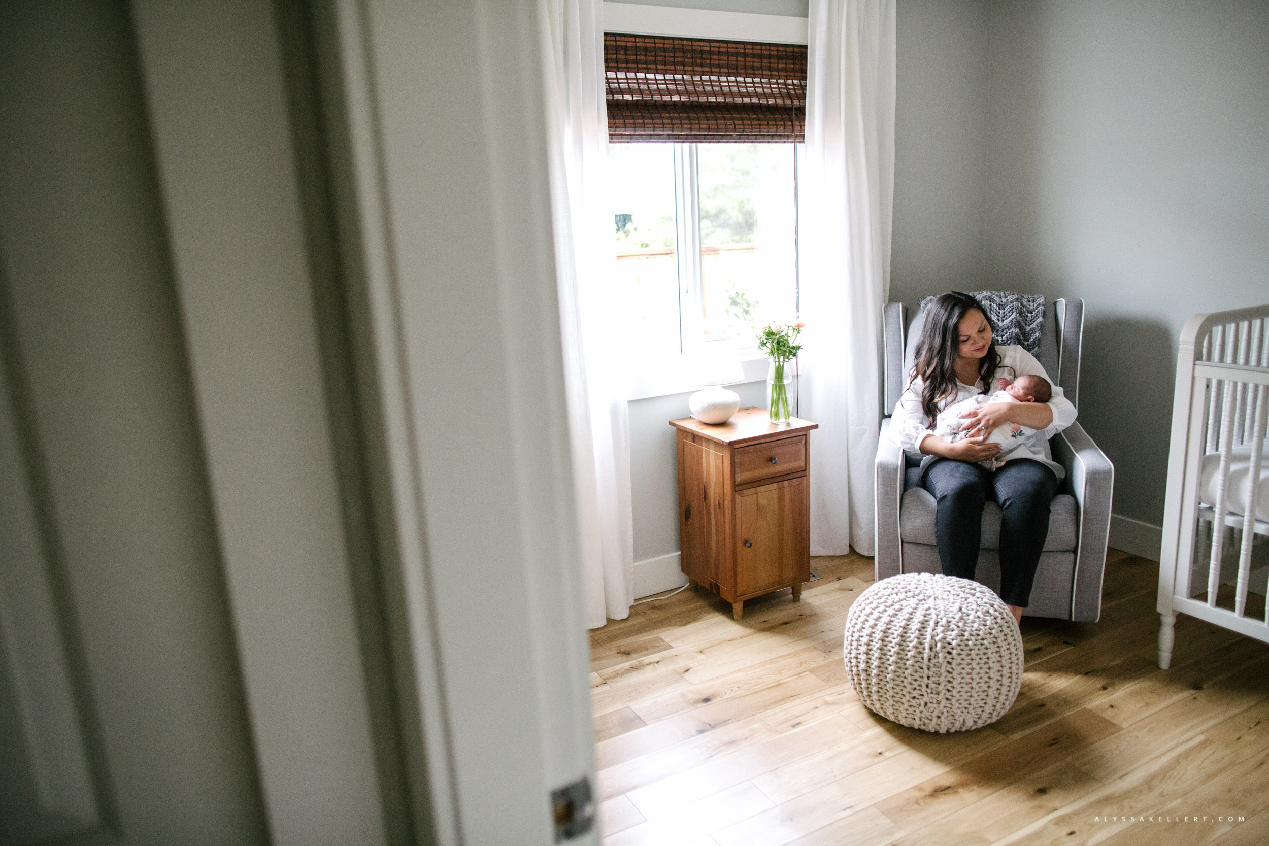 newborn-nursery-natural-light-crib-vancouver