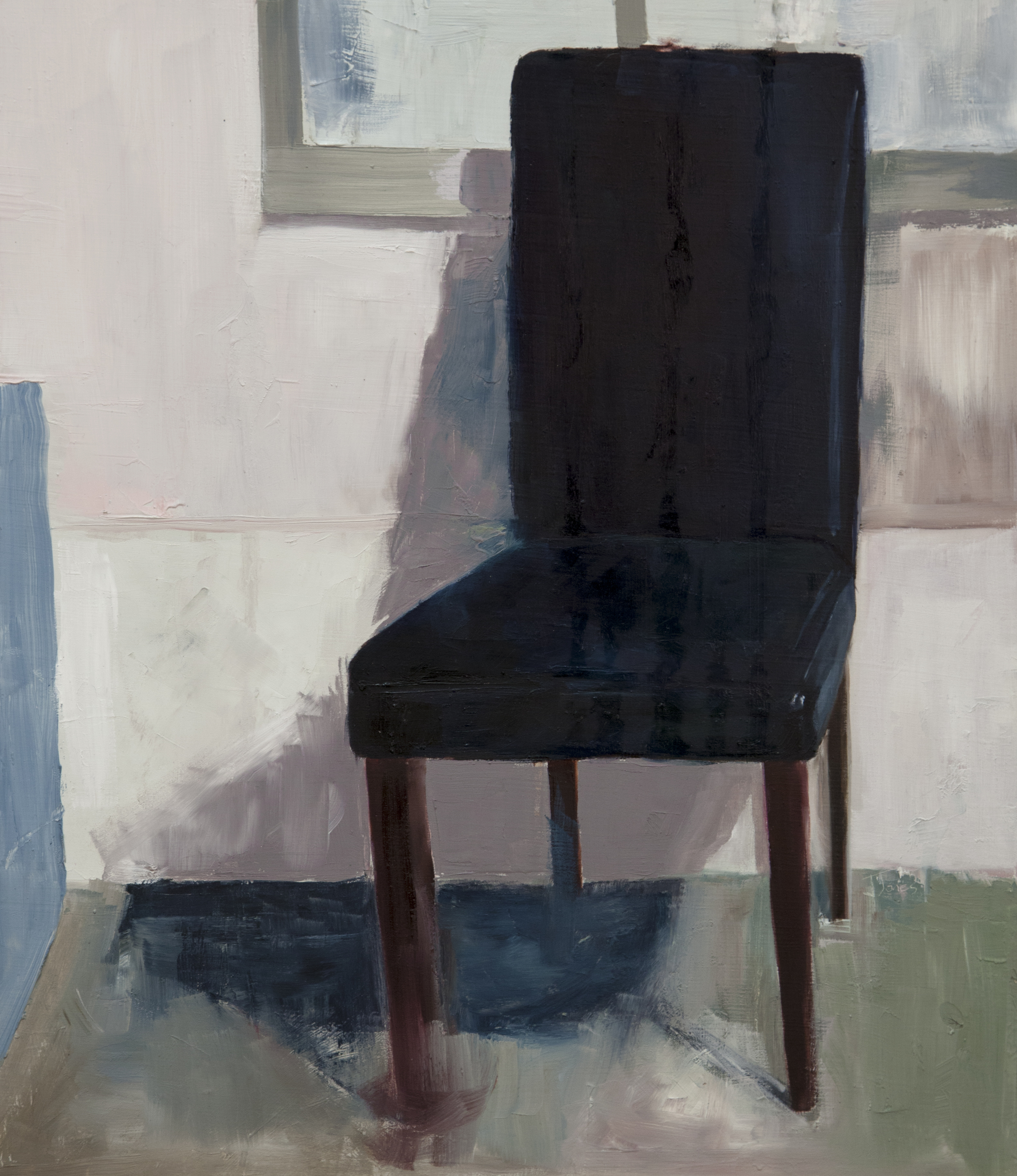 Chair in Blue
