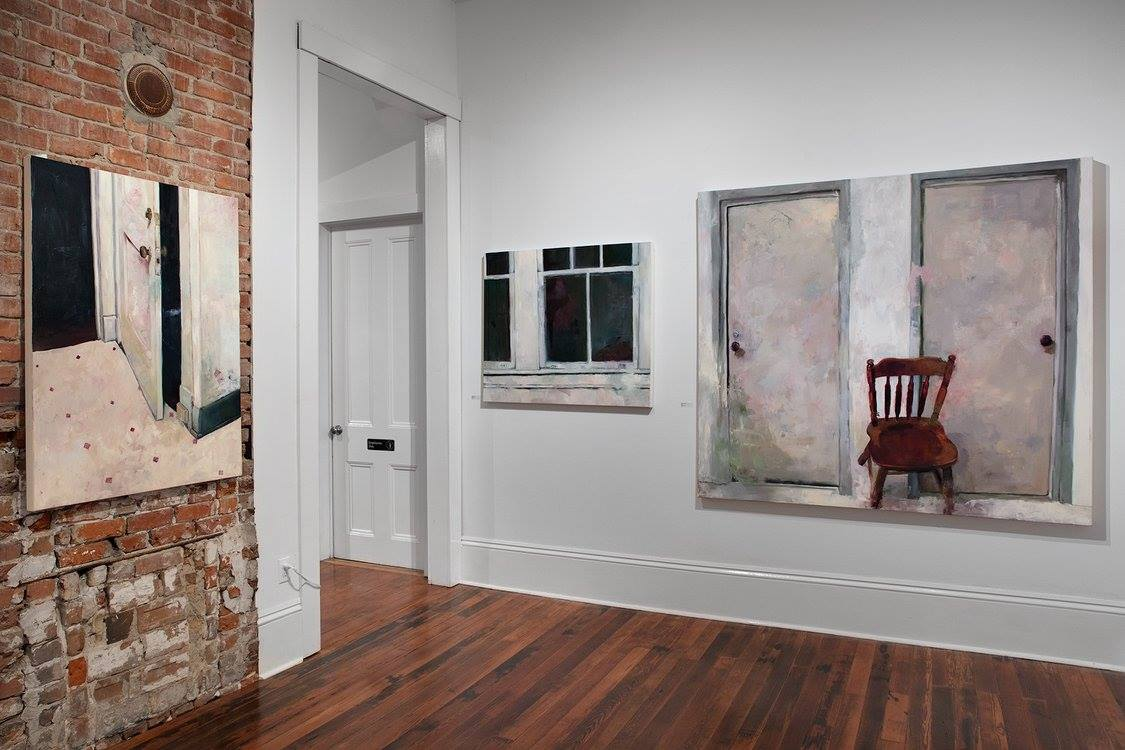 """Installation from """"Interiors, Icons, Inheritance"""" at Antenna Gallery, New Orleans.2017."""