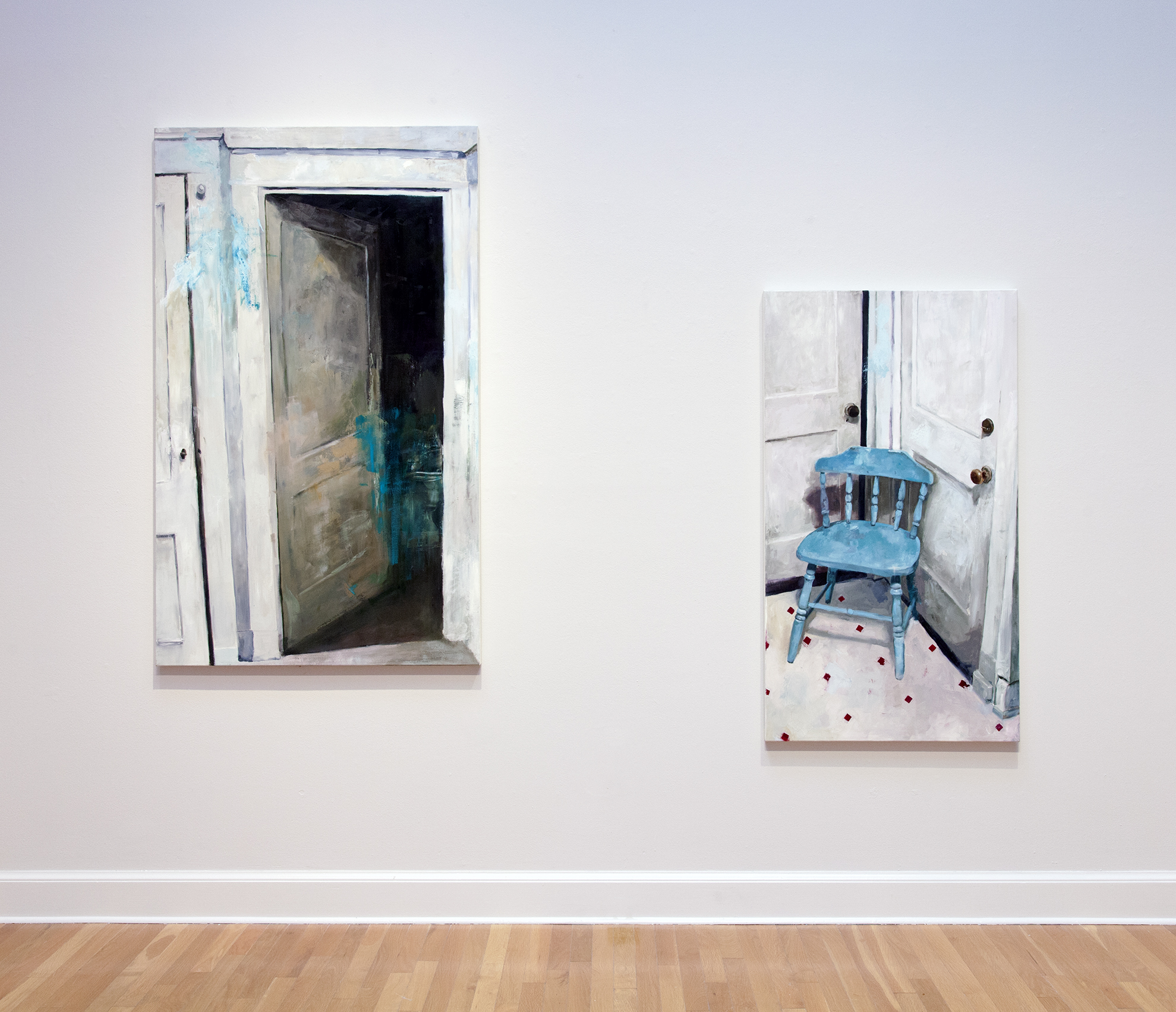 """Installation from """"Presence of Absence"""" at Carroll Gallery, New Orleans.2016."""
