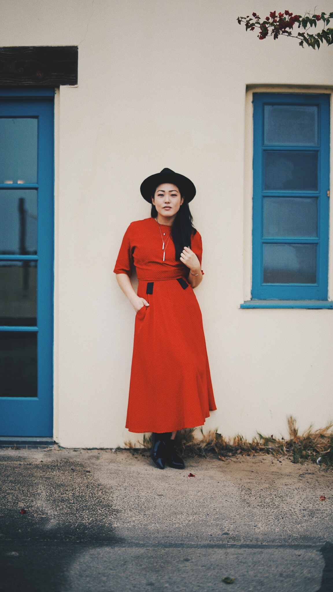 Vintage red dress... - I've been looking for you and I finally have you!