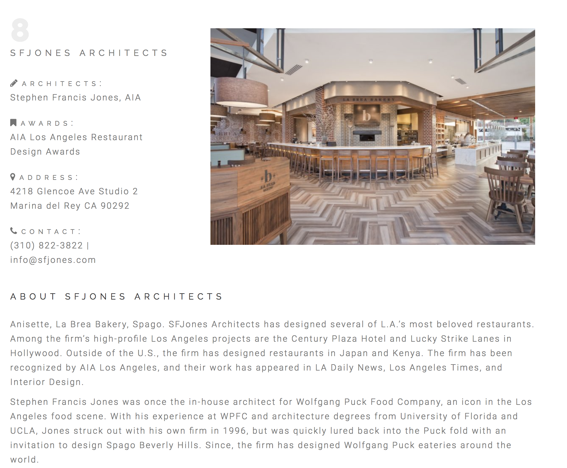 The Best Restaurant Architects In Los Angeles Sfjones Los Angeles Architecture Firm
