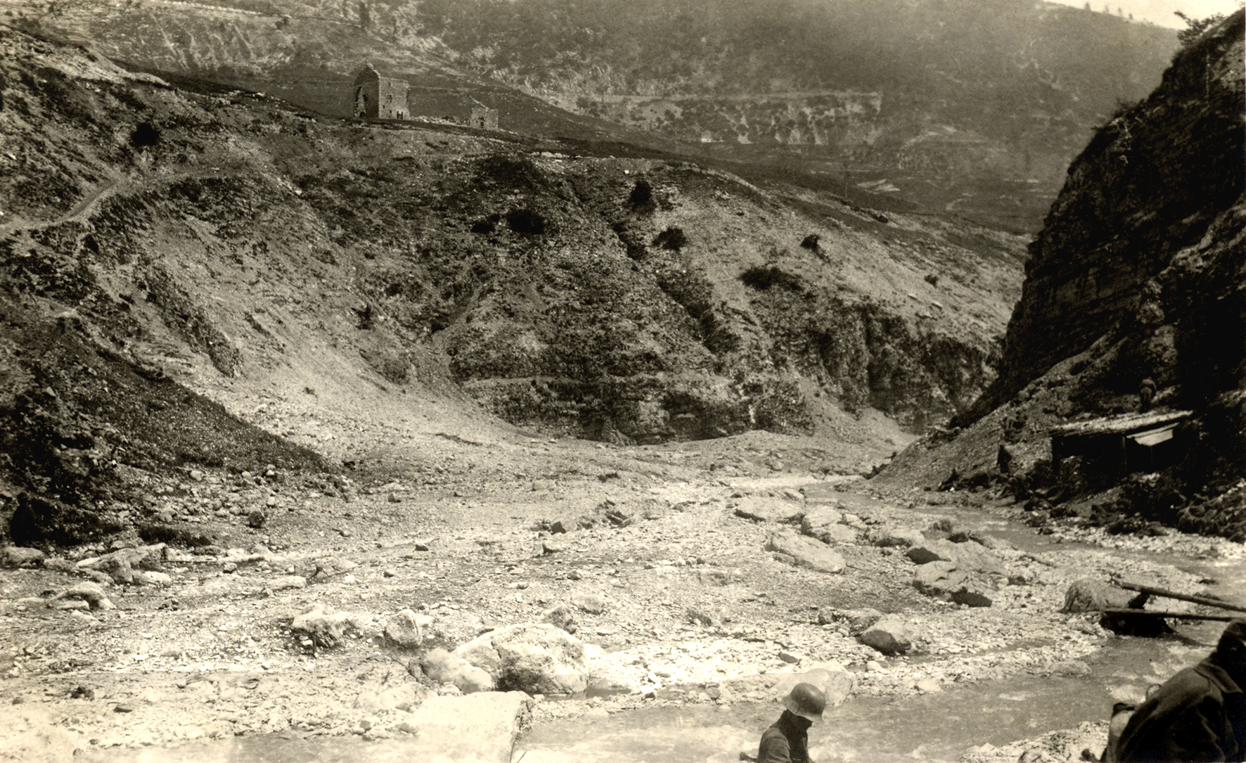 20 - Il 14° Hessen in Val Frenzela nell'estate del 1918.JPG
