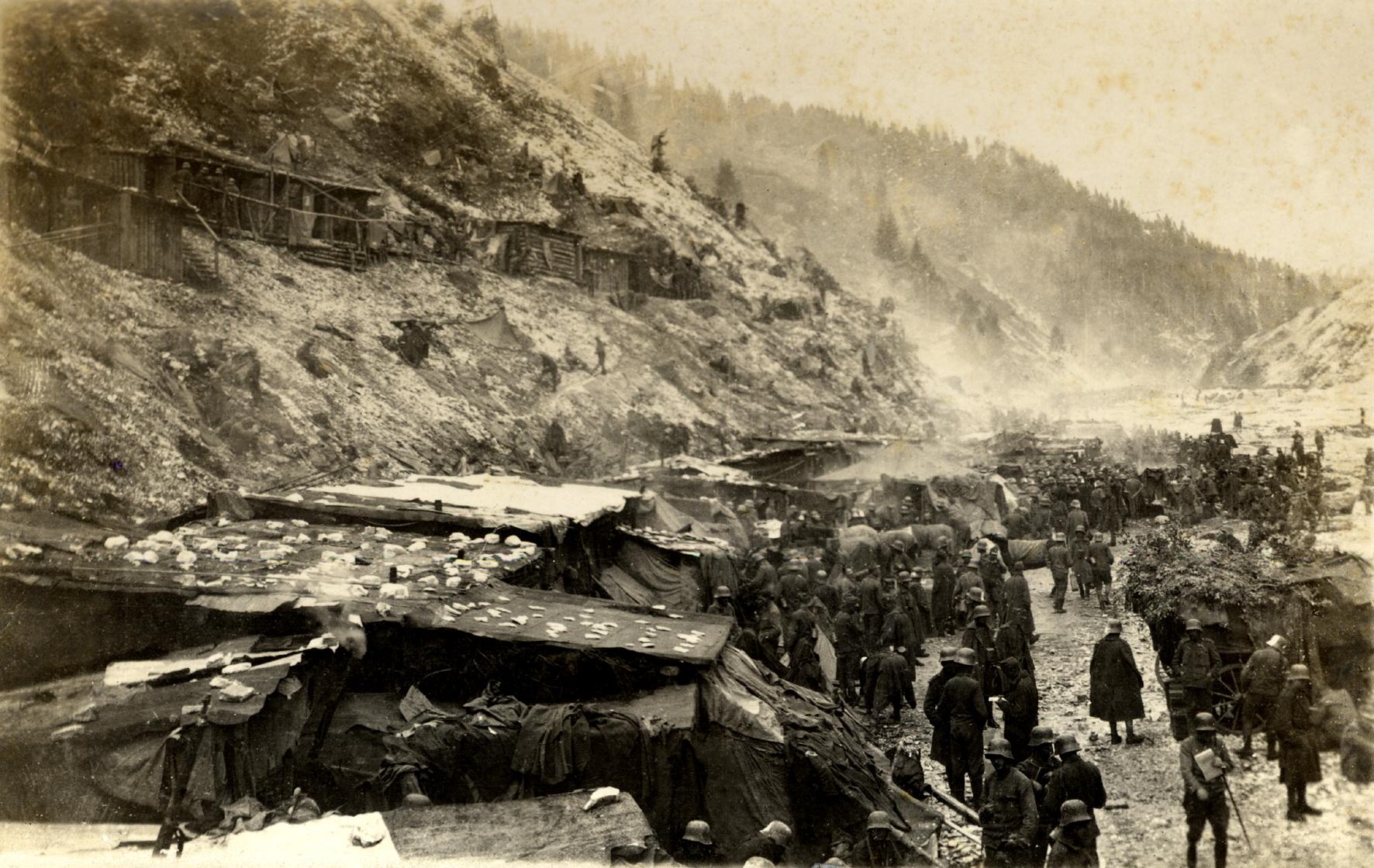21 - Il 14° Hessen in Val Frenzela durante la battaglia del Solstizio del 1918.JPG