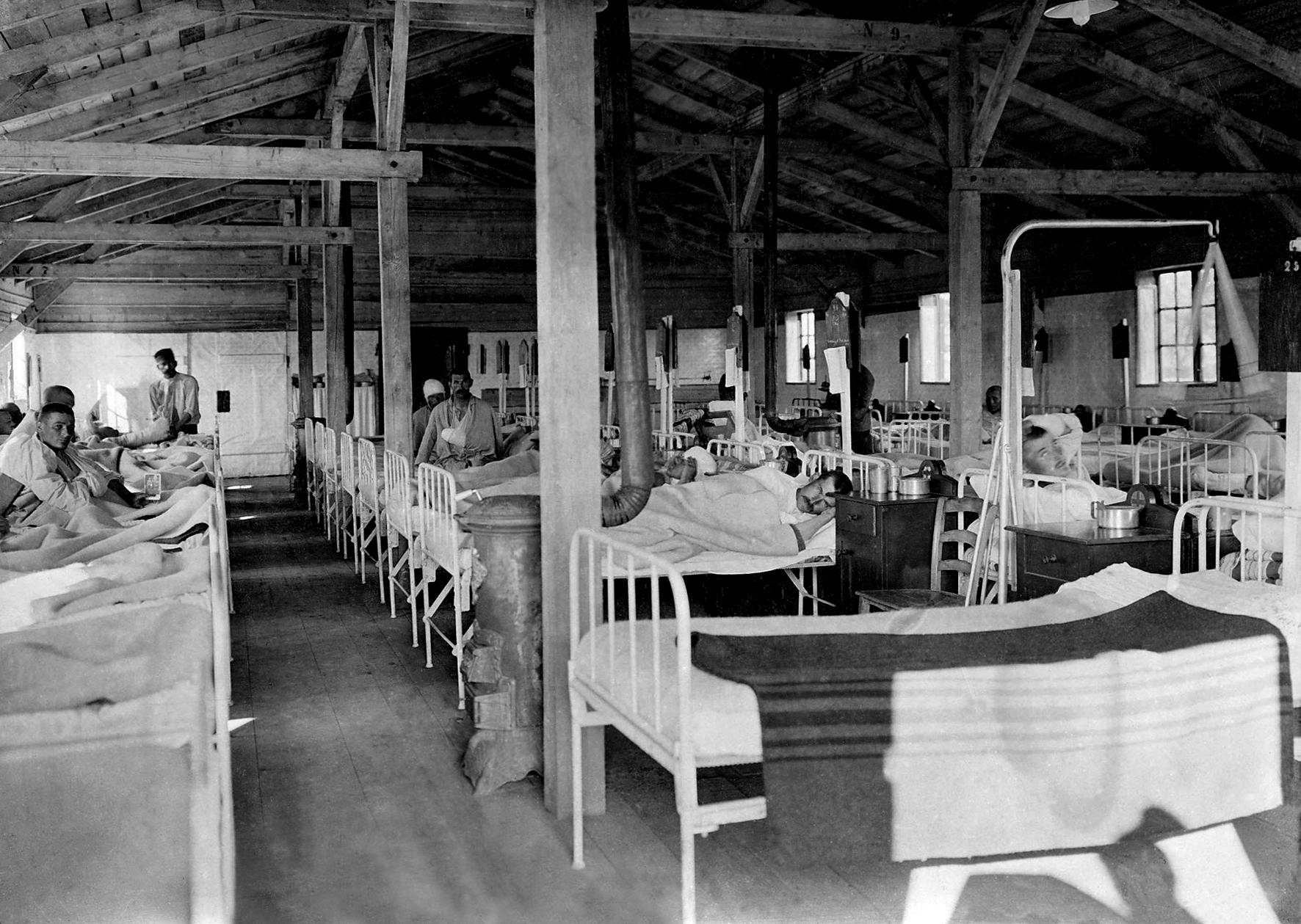 29 - Camerata di un ospedale austriaco.JPG