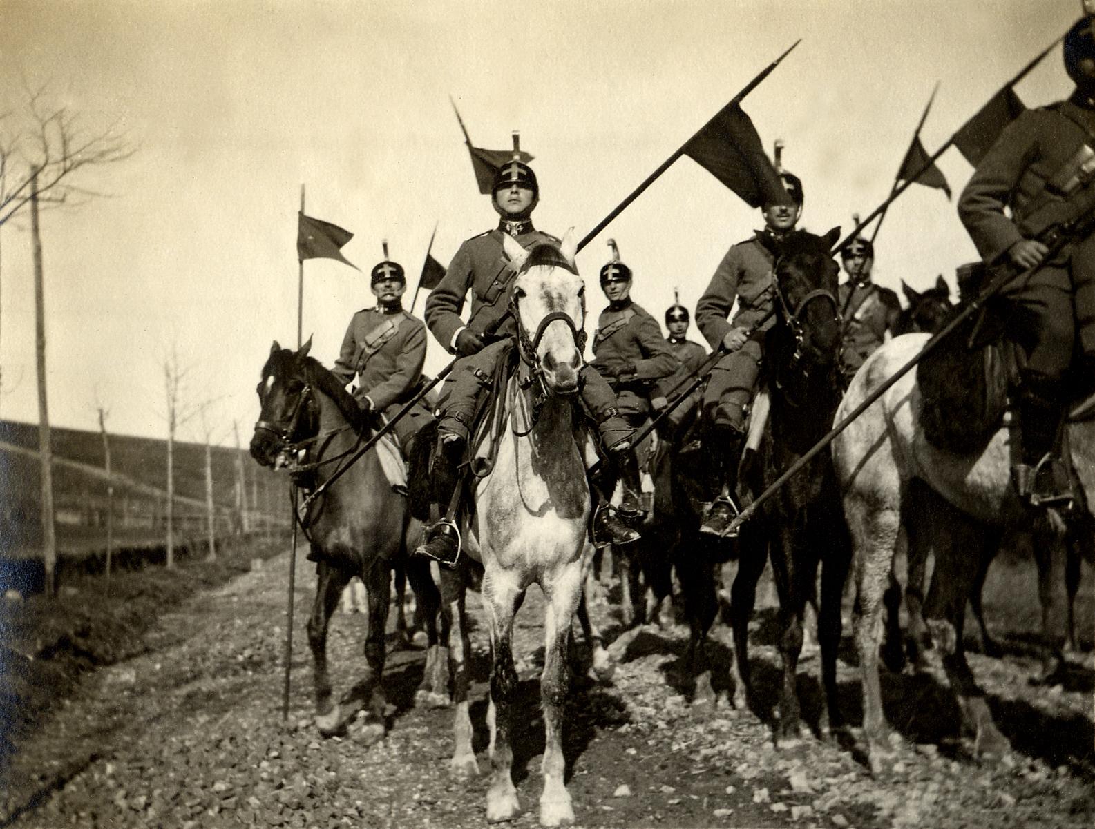 34 - Reparto di cavalleggeri del Piemonte Reale.JPG