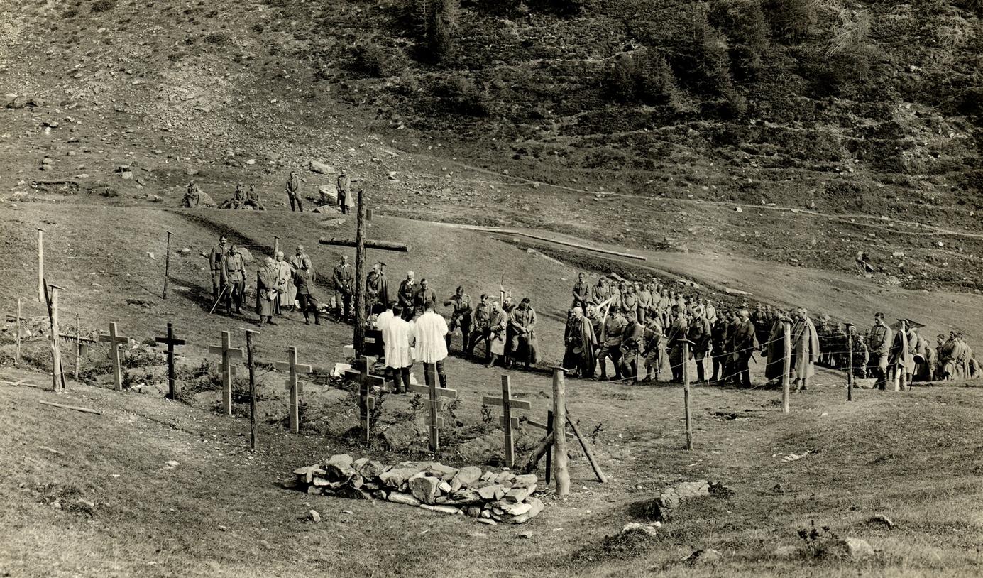 06 - Santa Messa al campo di un reparto dei Kaiserschützen.JPG