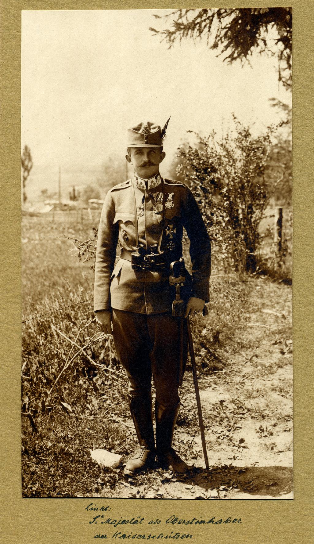 08 - Carlo in divisa da Kaiserschützen.JPG