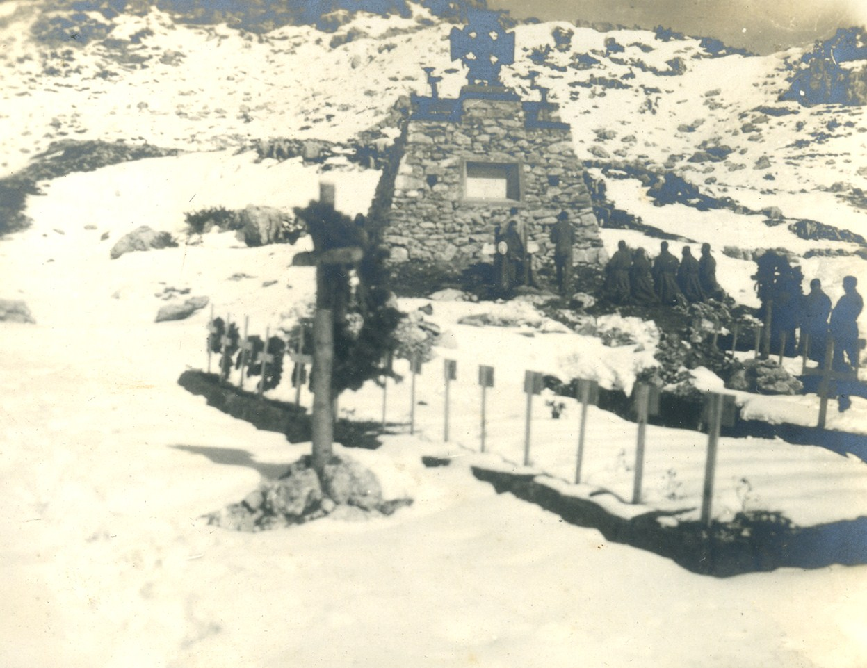 Il cimitero militare Austroungarico del Cuvolin - Monte Chiesa