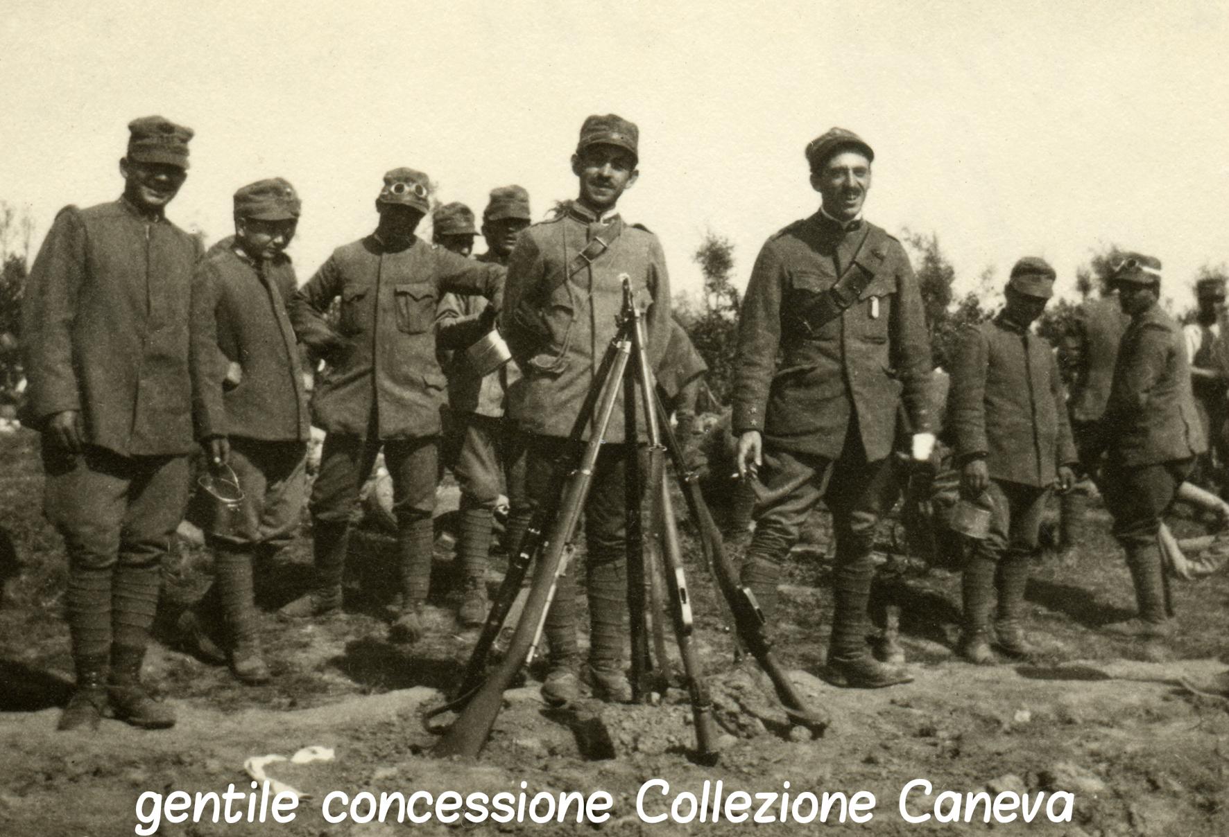 67 - La 12^ compagnia a Portrogruaro nel 1916 criptata caneva.jpg