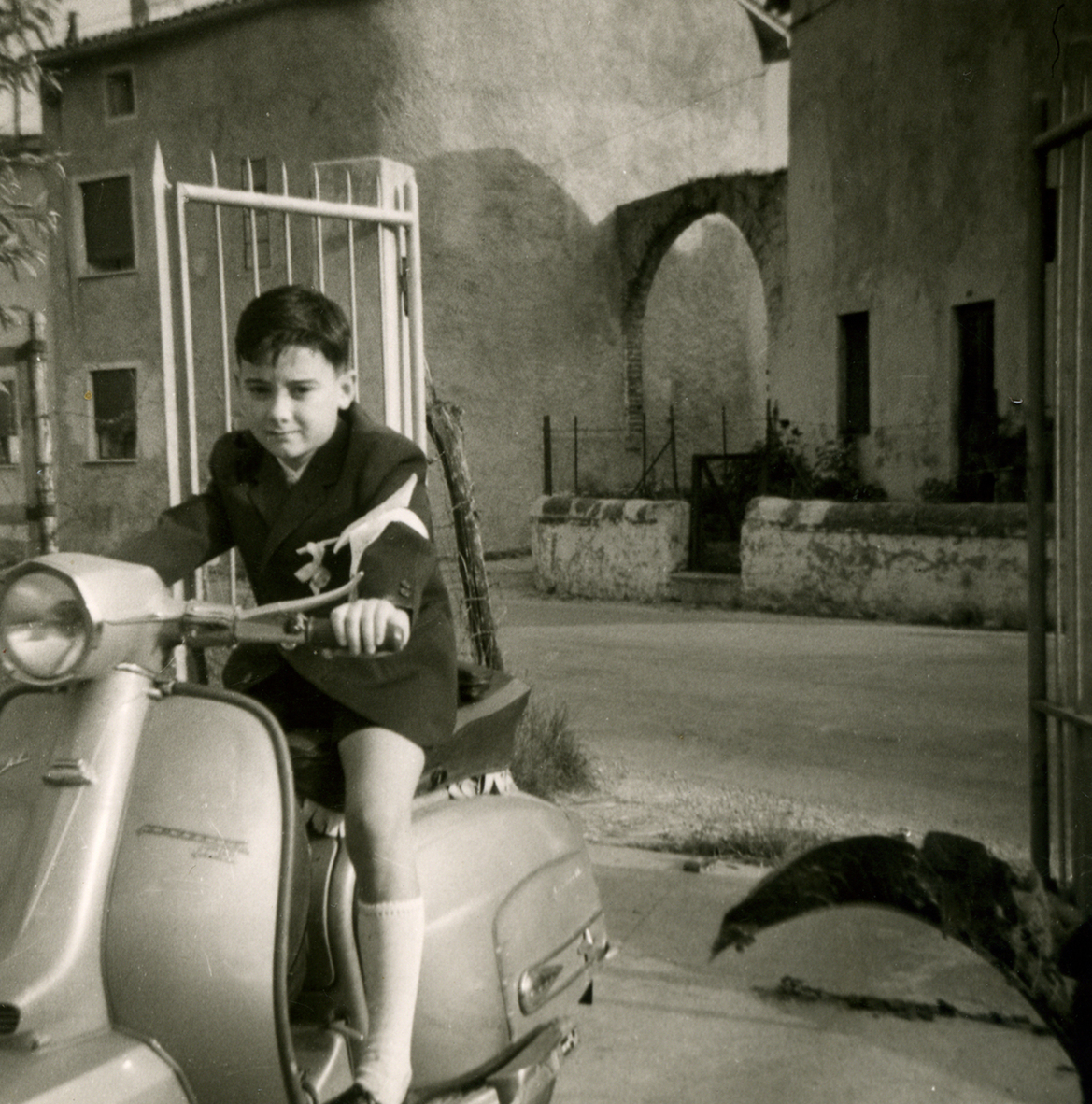 Ruggero Dal Molin nel 1966