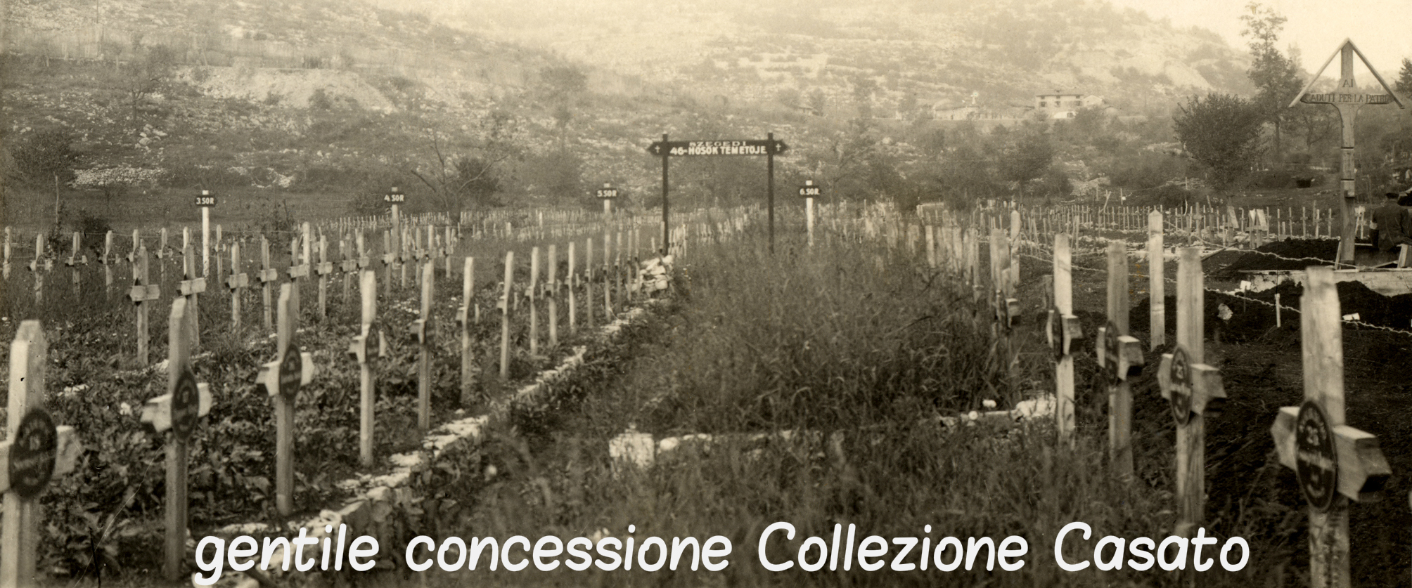 Cimitero Austroungarico sul Carso