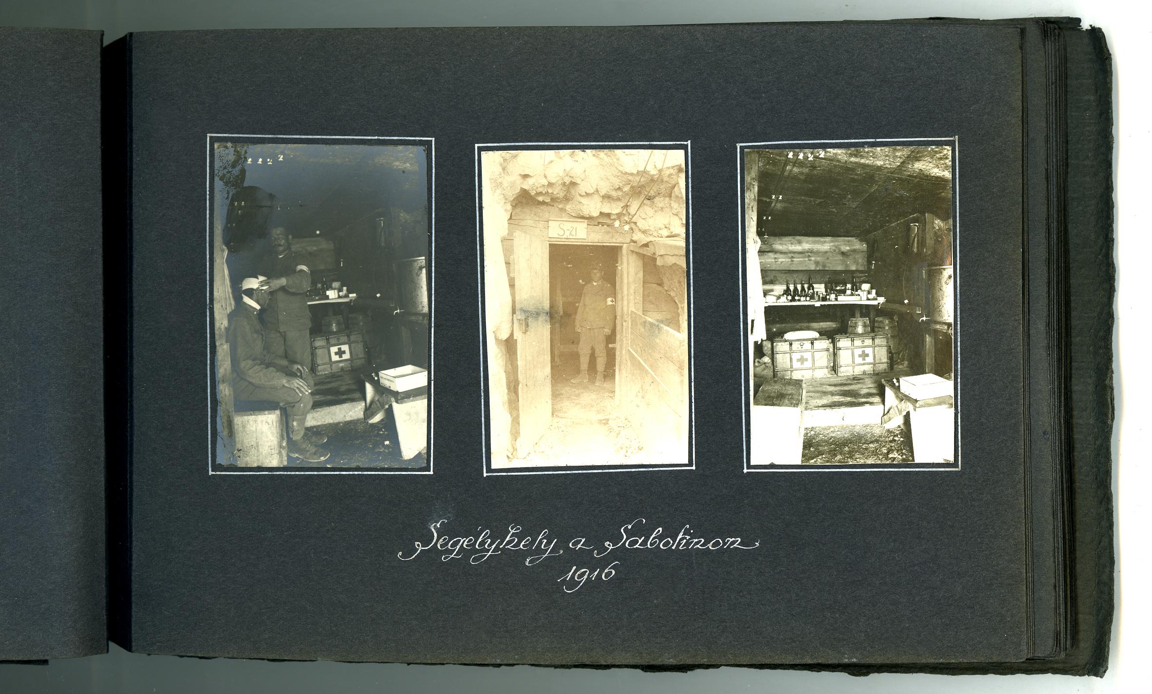 13 - album ungherese, l'Hilfplatz  sul Sabotino - ASDM.JPG