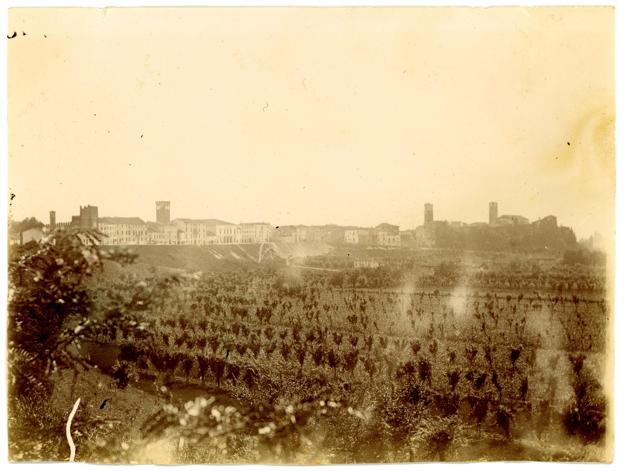 Una immagine di Bassano nel 1896