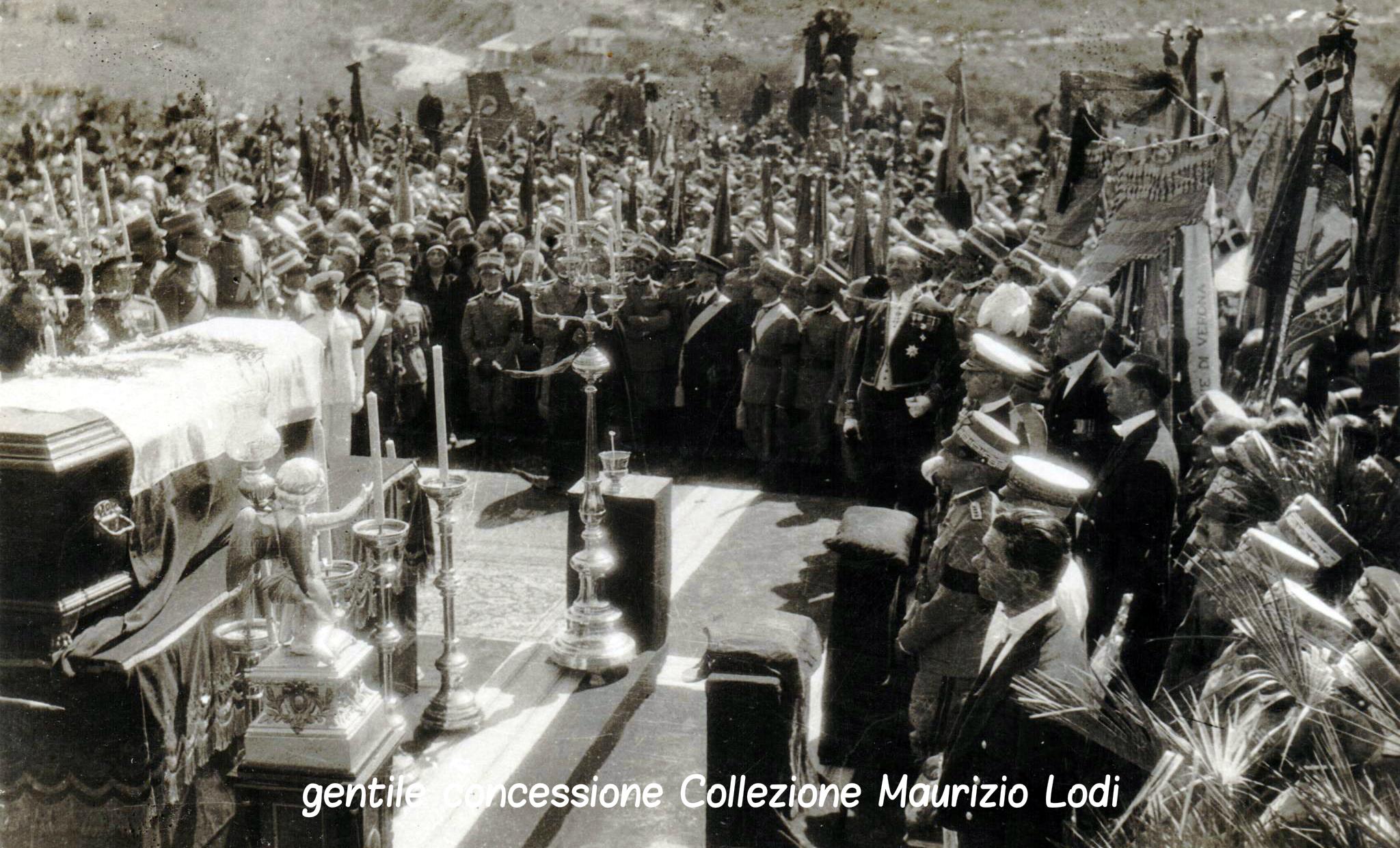 I funerali del Duca d'Aosta a Redipuglia il 7 luglio 1931