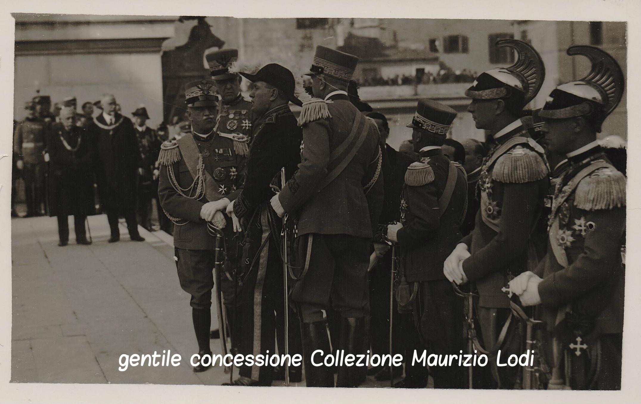 I funerali del Generale Diaz, Duca della Vittoria, alla presenza di S.M. il Re e di Benito Mussolini (marzo 1928)