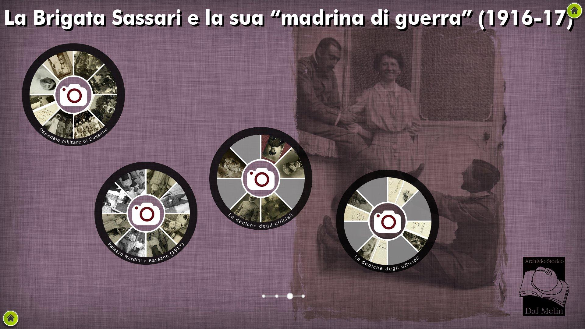 la Sassari e la sua madrina Archivio Dal Molin.jpg