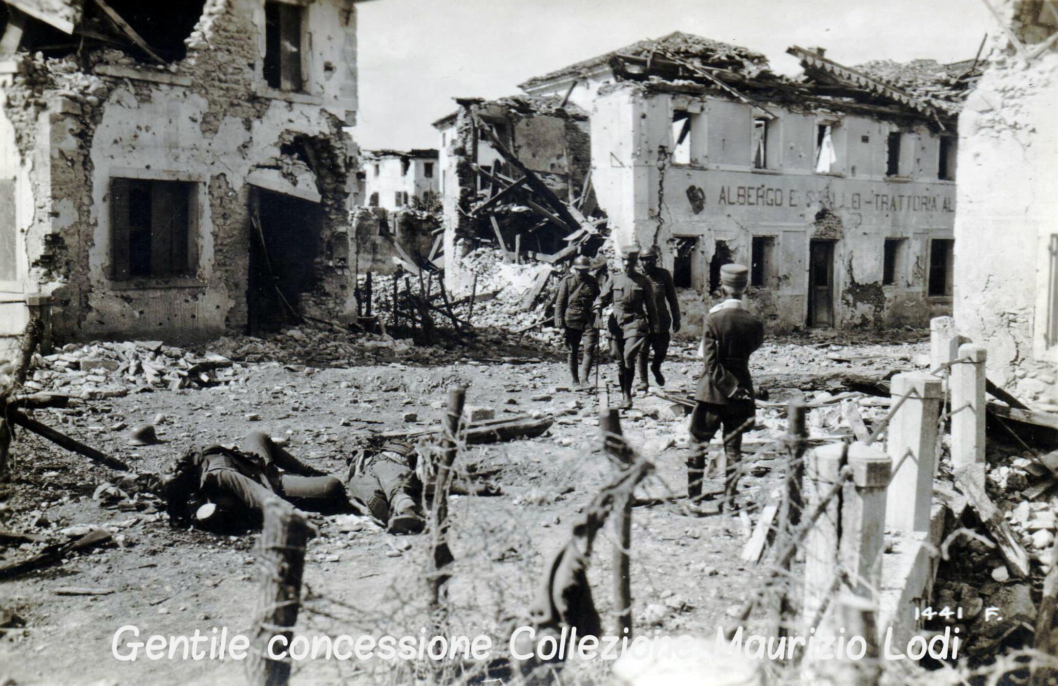 Entrata il 24 giugno 1918 di S.A.R. Vittorio Emanuele di Savoia Conte di Torino in Nervesa riconquistata (C).jpg
