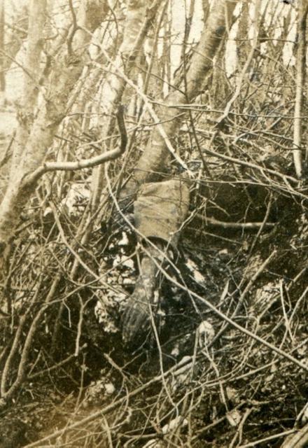 Santa Lucia, 1915: fra le linee.