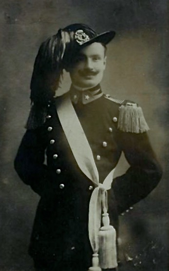 Il tenente dei bersaglieri Guido Giovagnoli caduto a Santa Lucia il 22 agosto 1915.