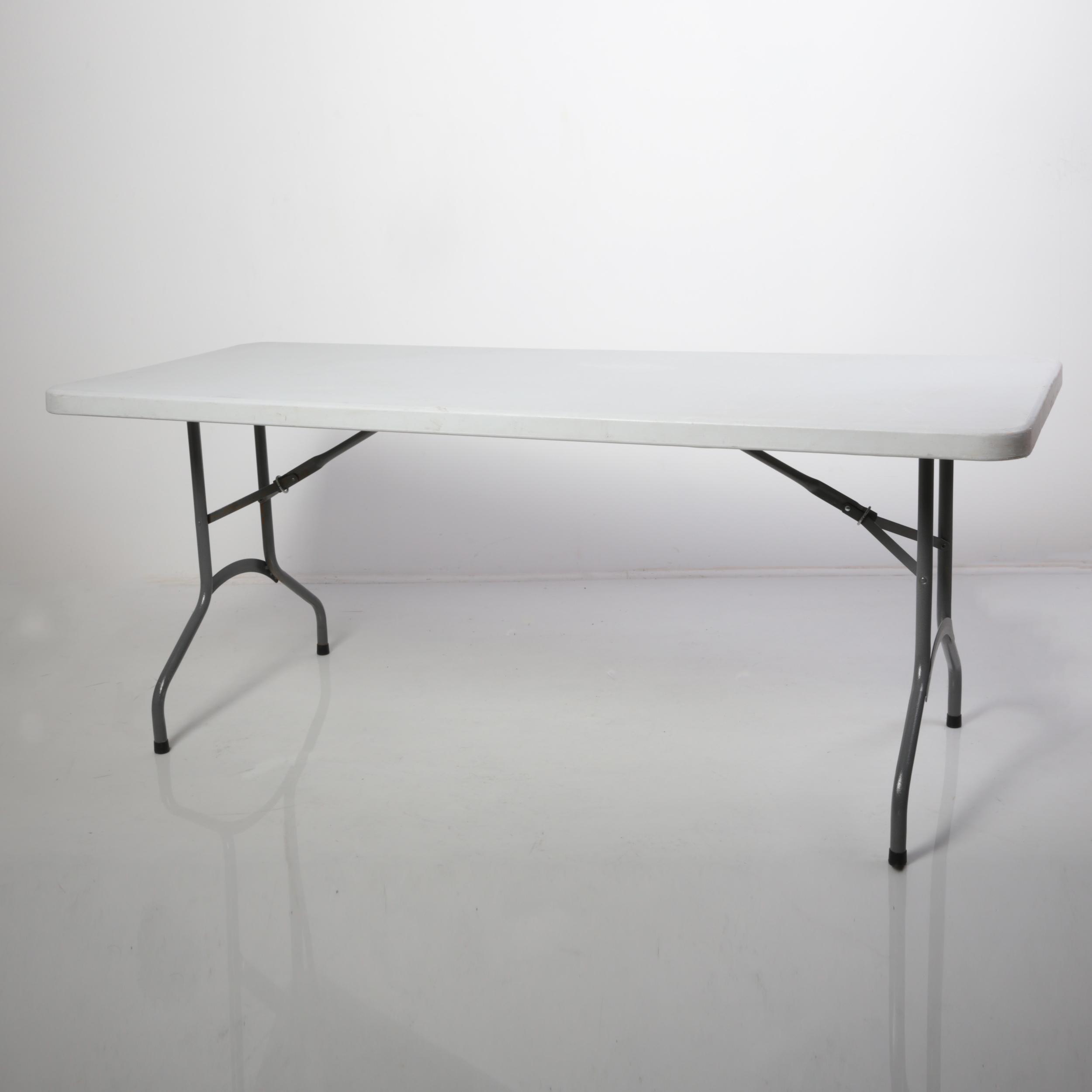tavolo resina catering 180x80