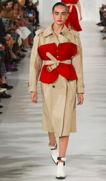 Down in the trenches - A true spring staple. NOW is the time to jump on the revamped trench coat trend. From asymmetrical, to oversized and everything in between, all trends want a piece of this classic look. Try and add a pop of color to the classic tan for a pimped up twist.