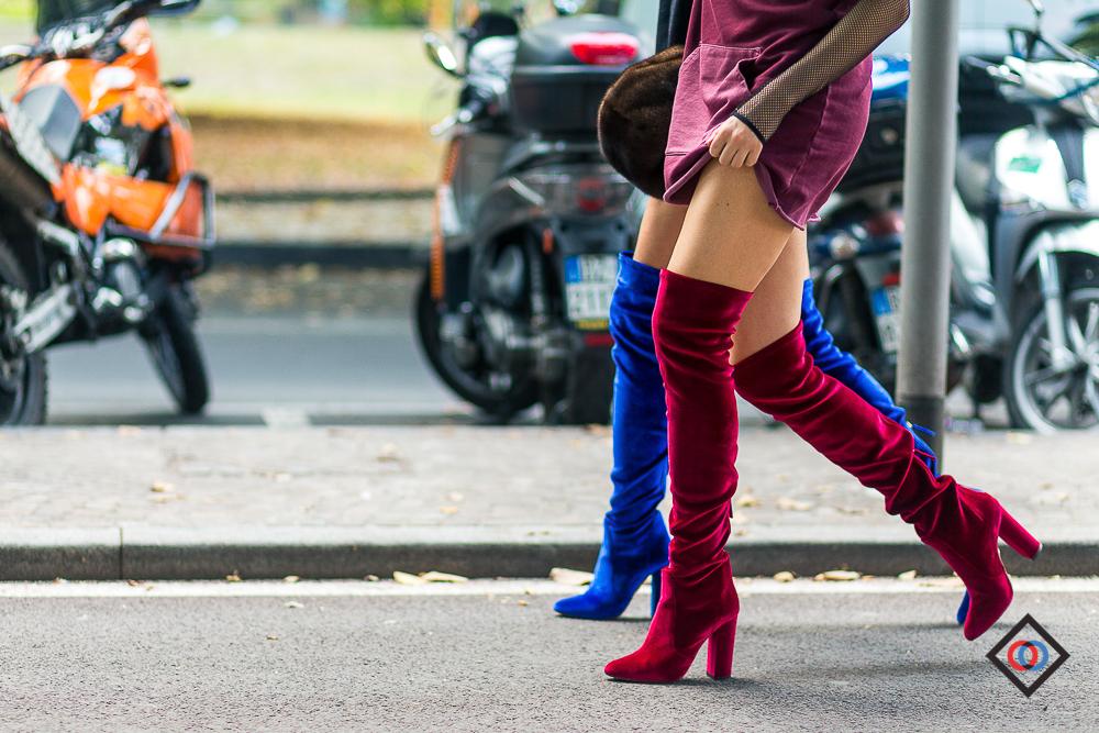 AQUAZZURA boots duo on  CAROLINE VREELAND and  SHEA MARIE