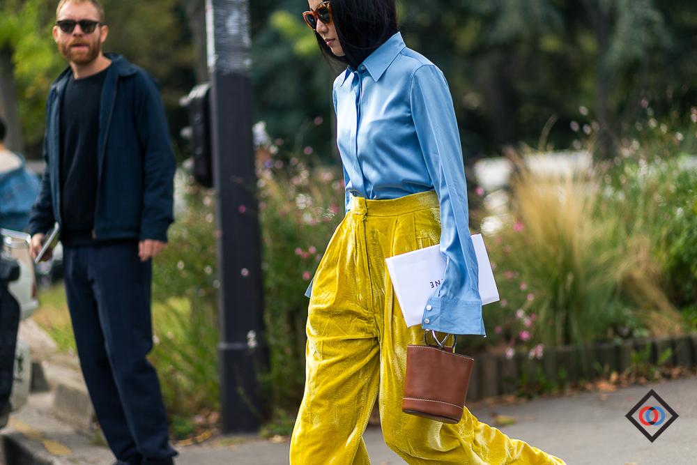 CELINE pants on  YOYO CAO
