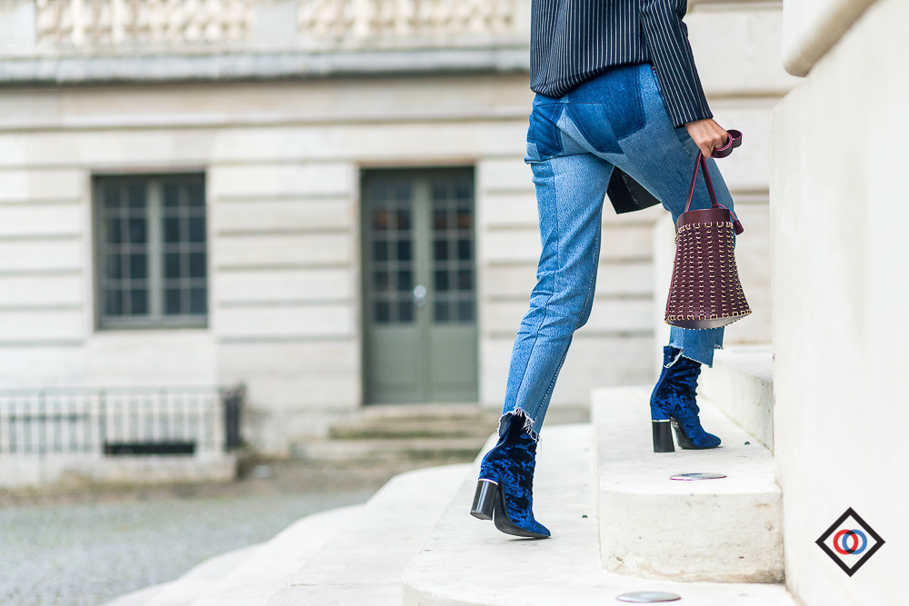 3.1 PHILLIP  boots and  VETEMENTS jeans