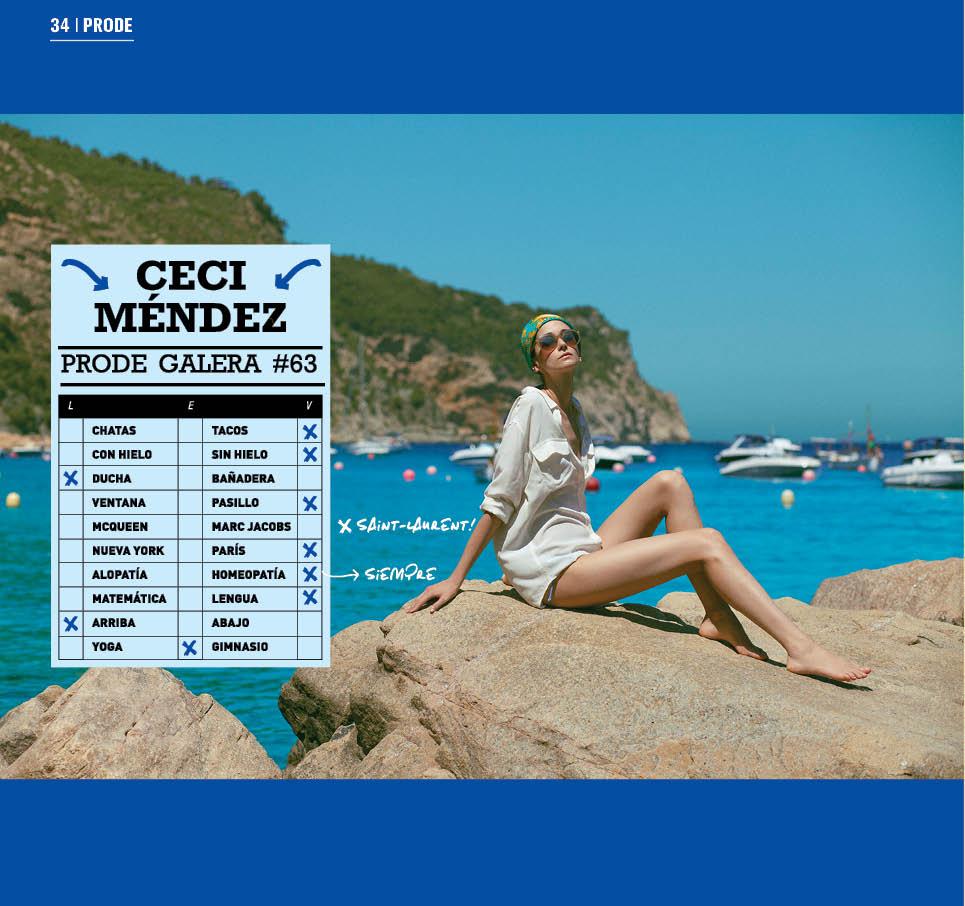 Ceci Mendez for Galera Magazine by Diego Zuko -