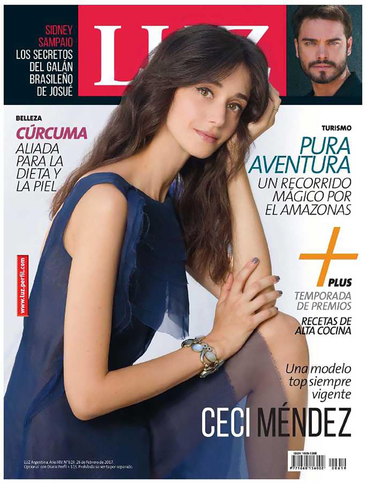 Revista Luz Cover and Interview featuring Ceci Mendez -