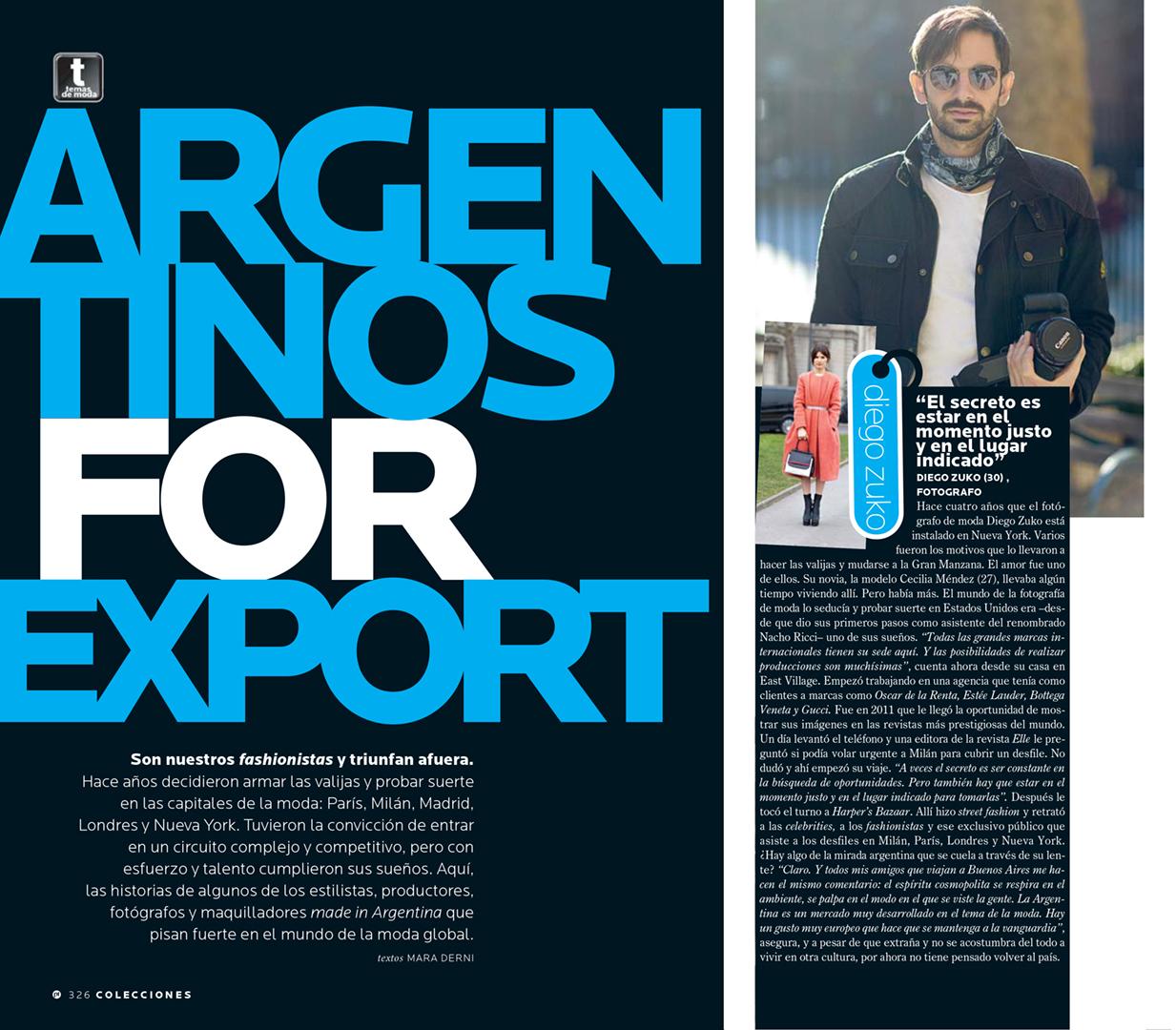 Diego Zuko's Interview for ParaTi Magazine -