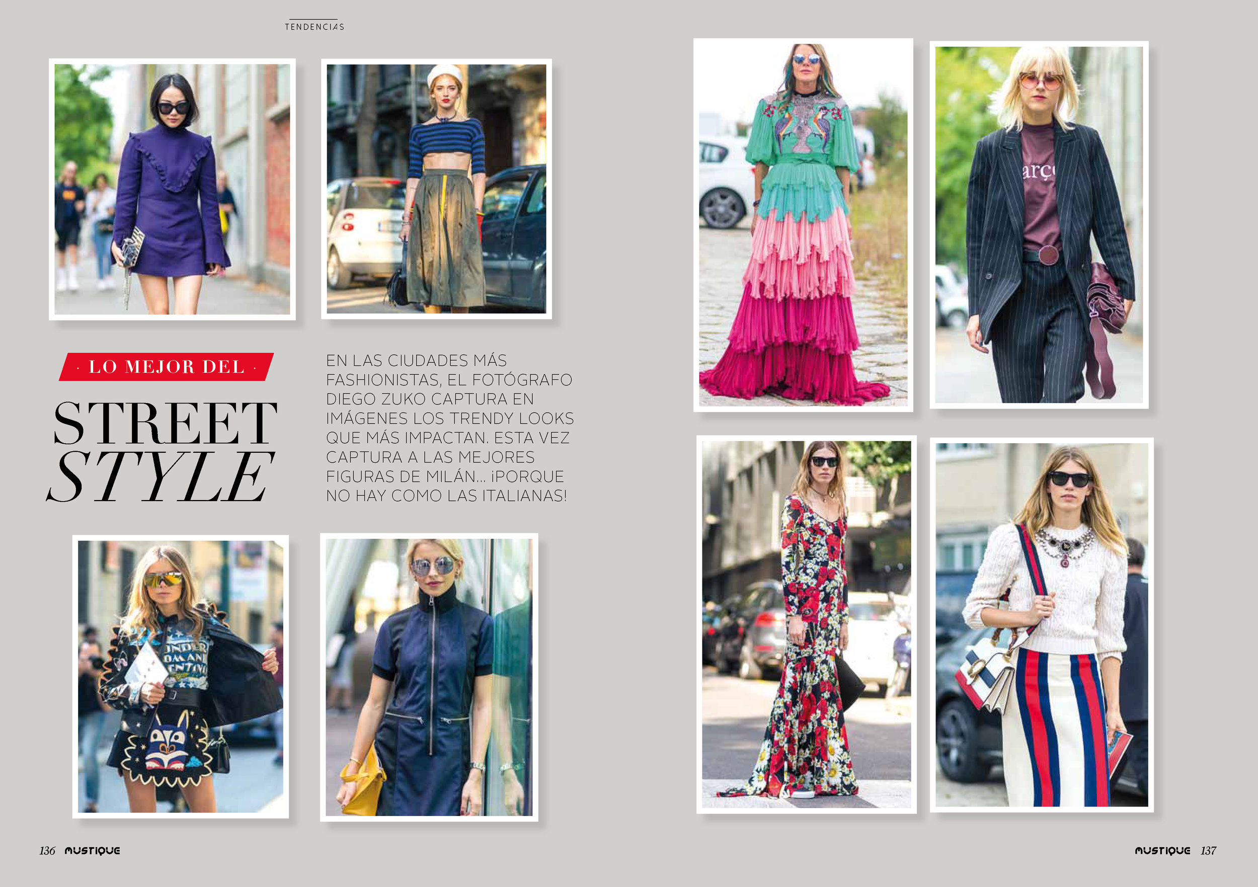 Street Style Coverage for Mustique Magazine -