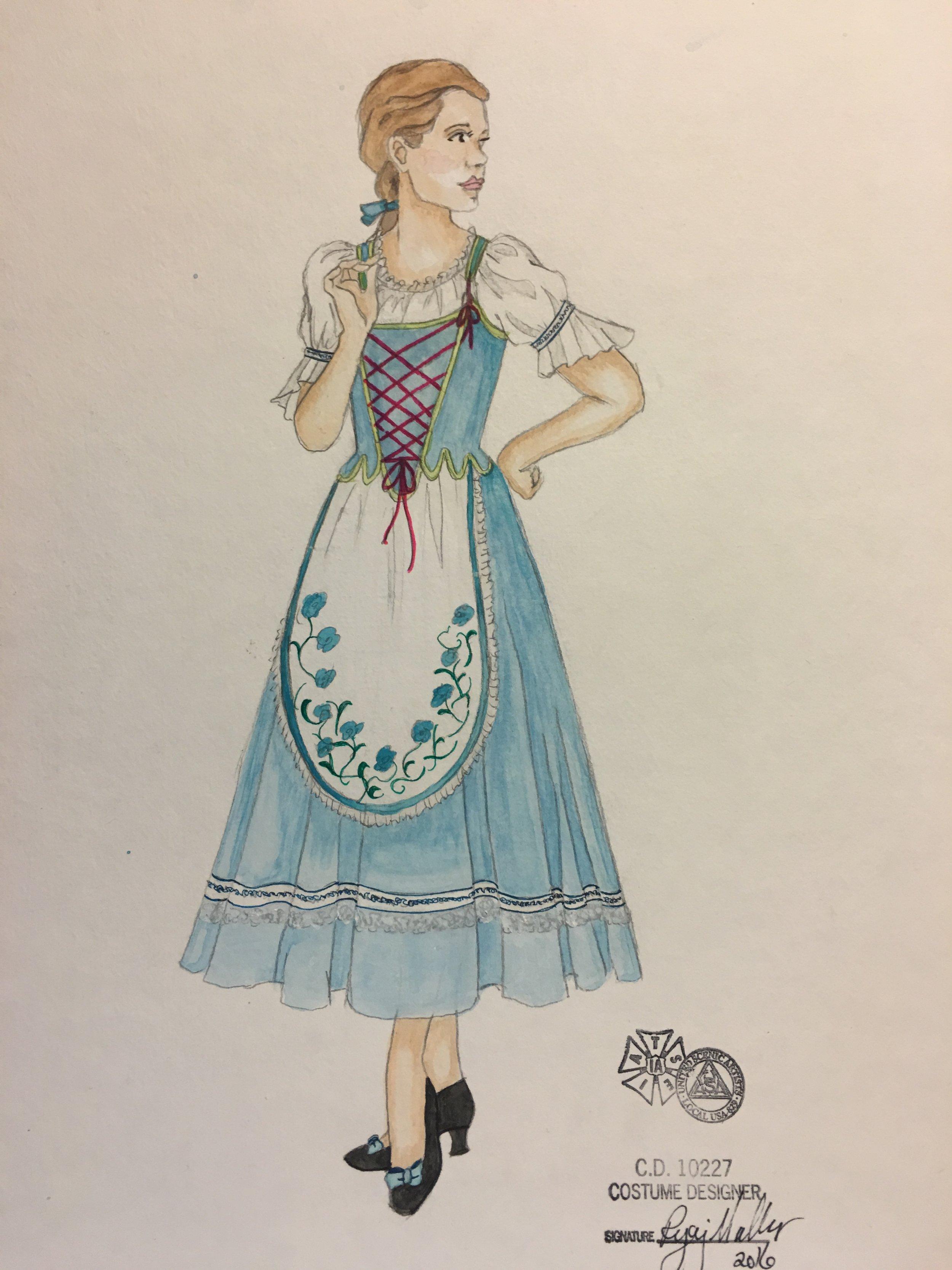 Sketch for Belle