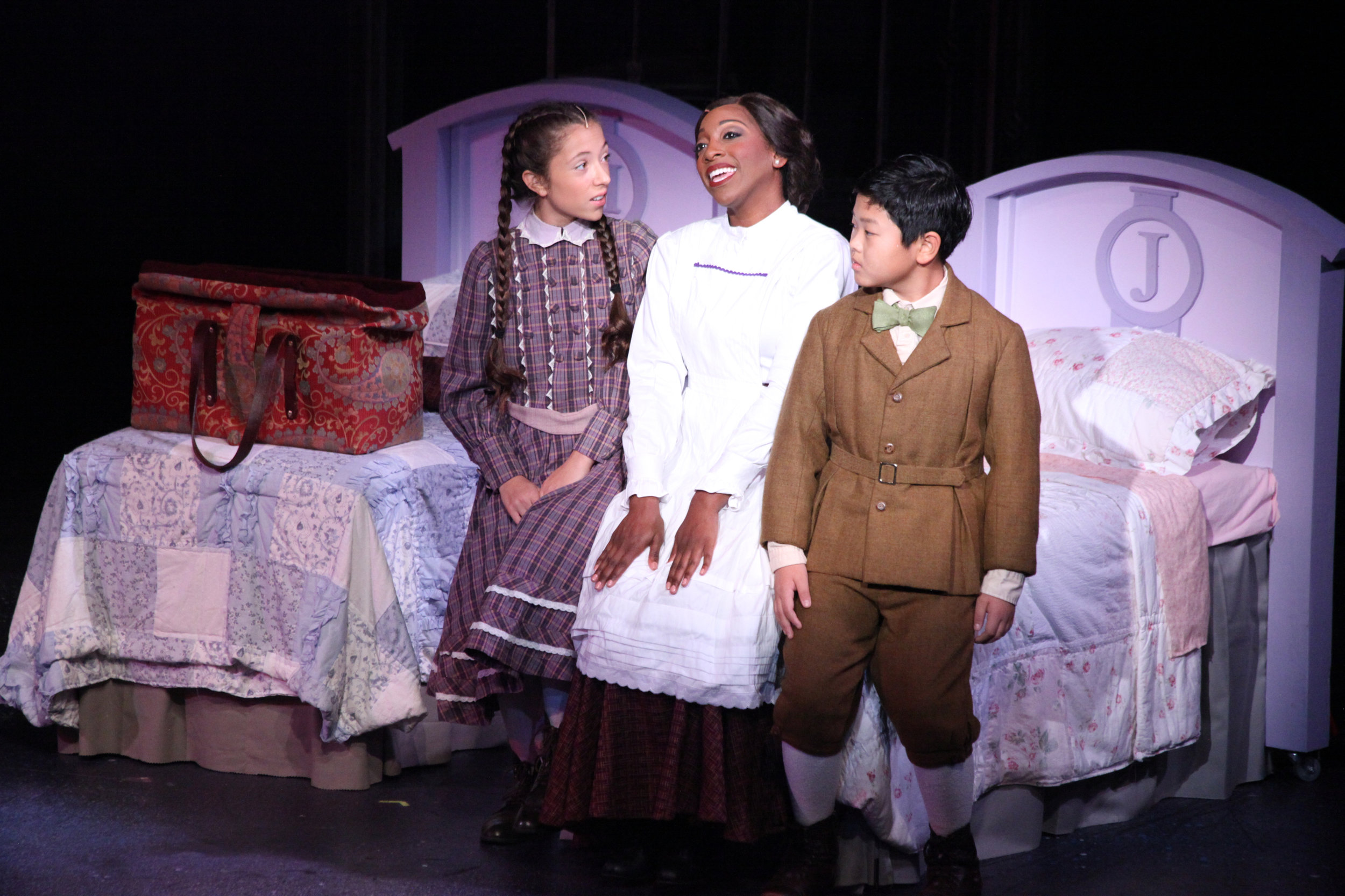 "Janeta Jackson as Mary Poppins ""Practically Perfect"""