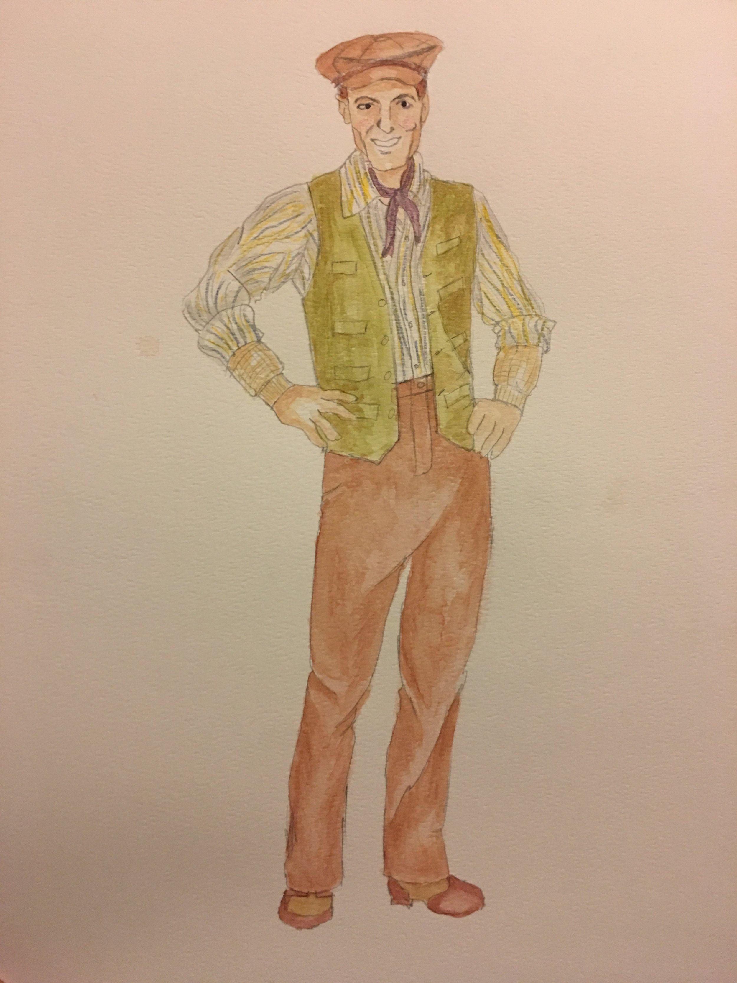 Sketch for Burt