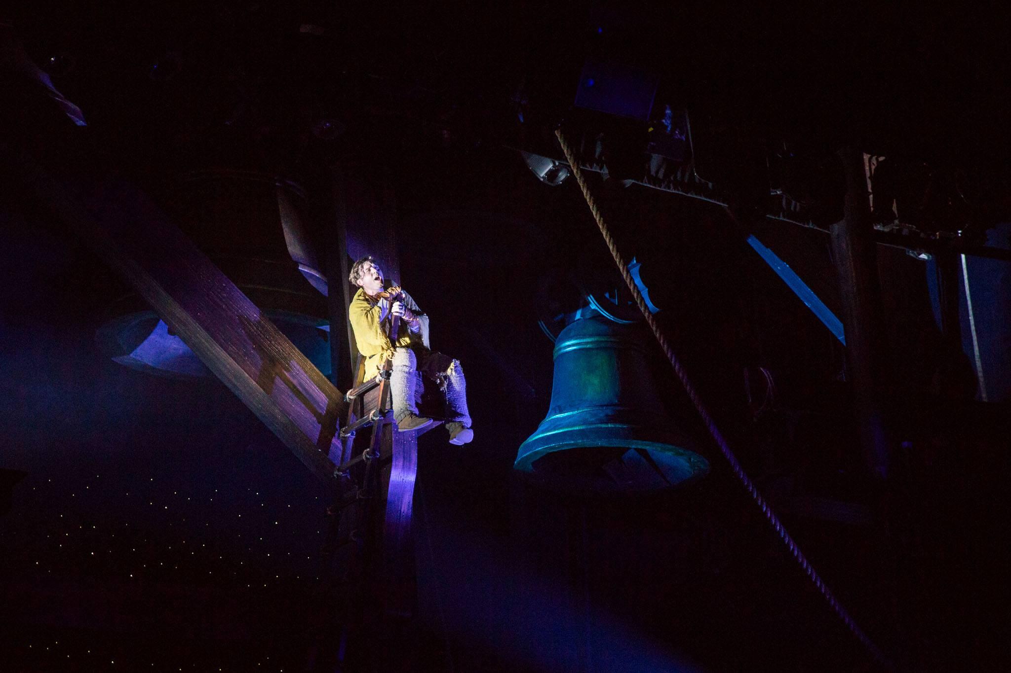 """Nate Hackman as Quasimodo """" Heavens Light"""""""
