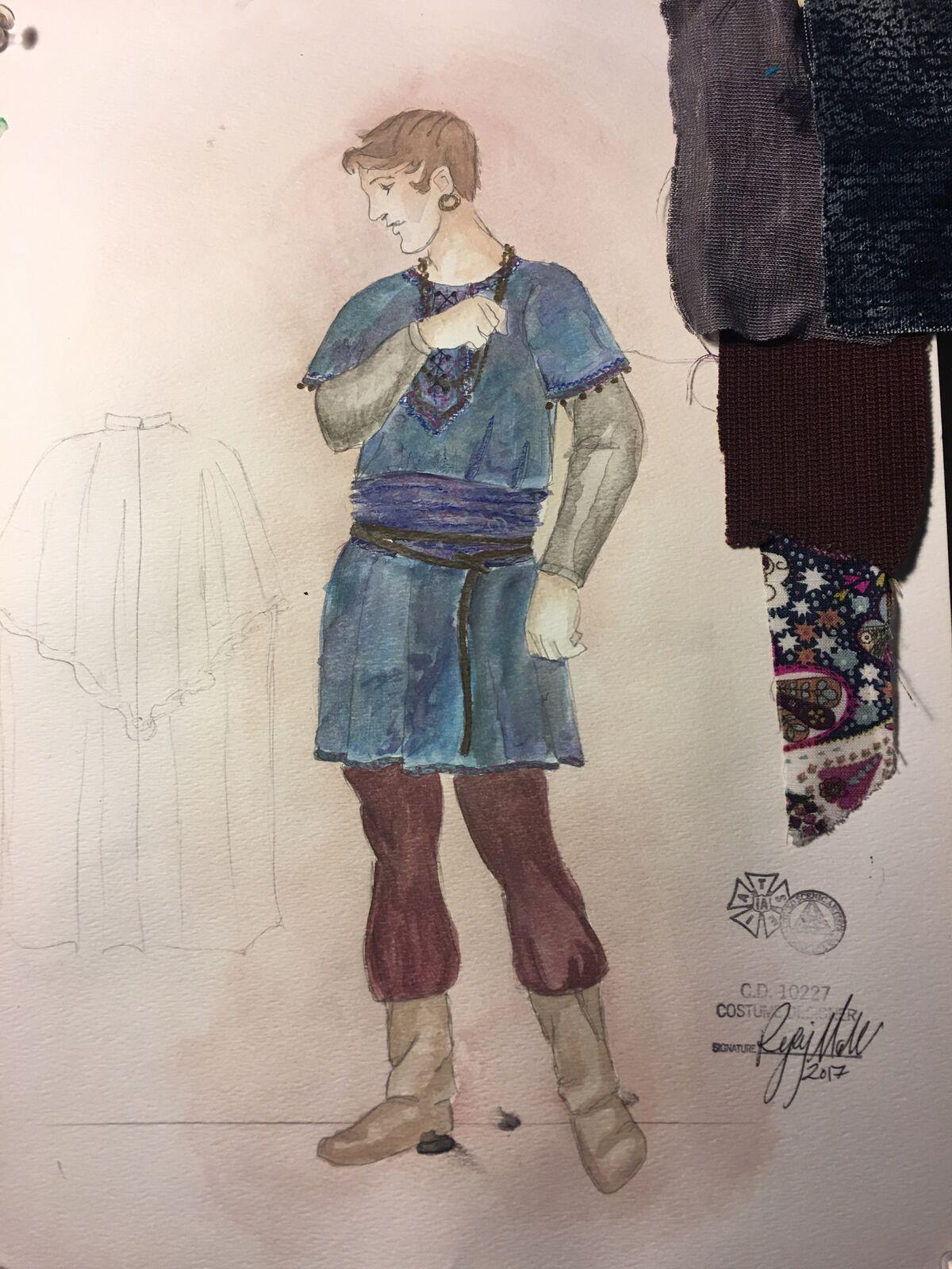 Sketch for Gypsy Ensemble
